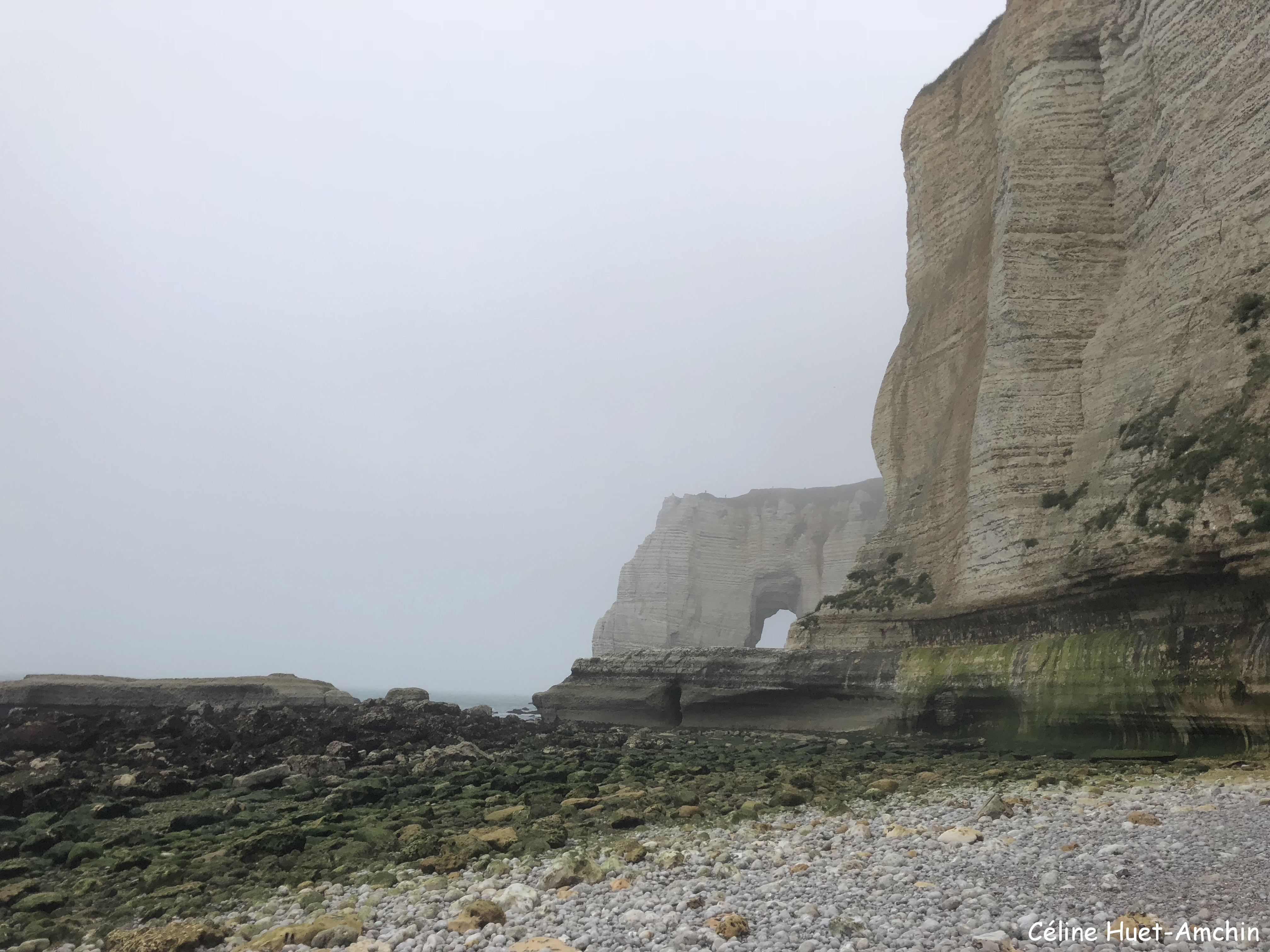 La Valleuse de Valaine et la Manneporte Etretat Normandie