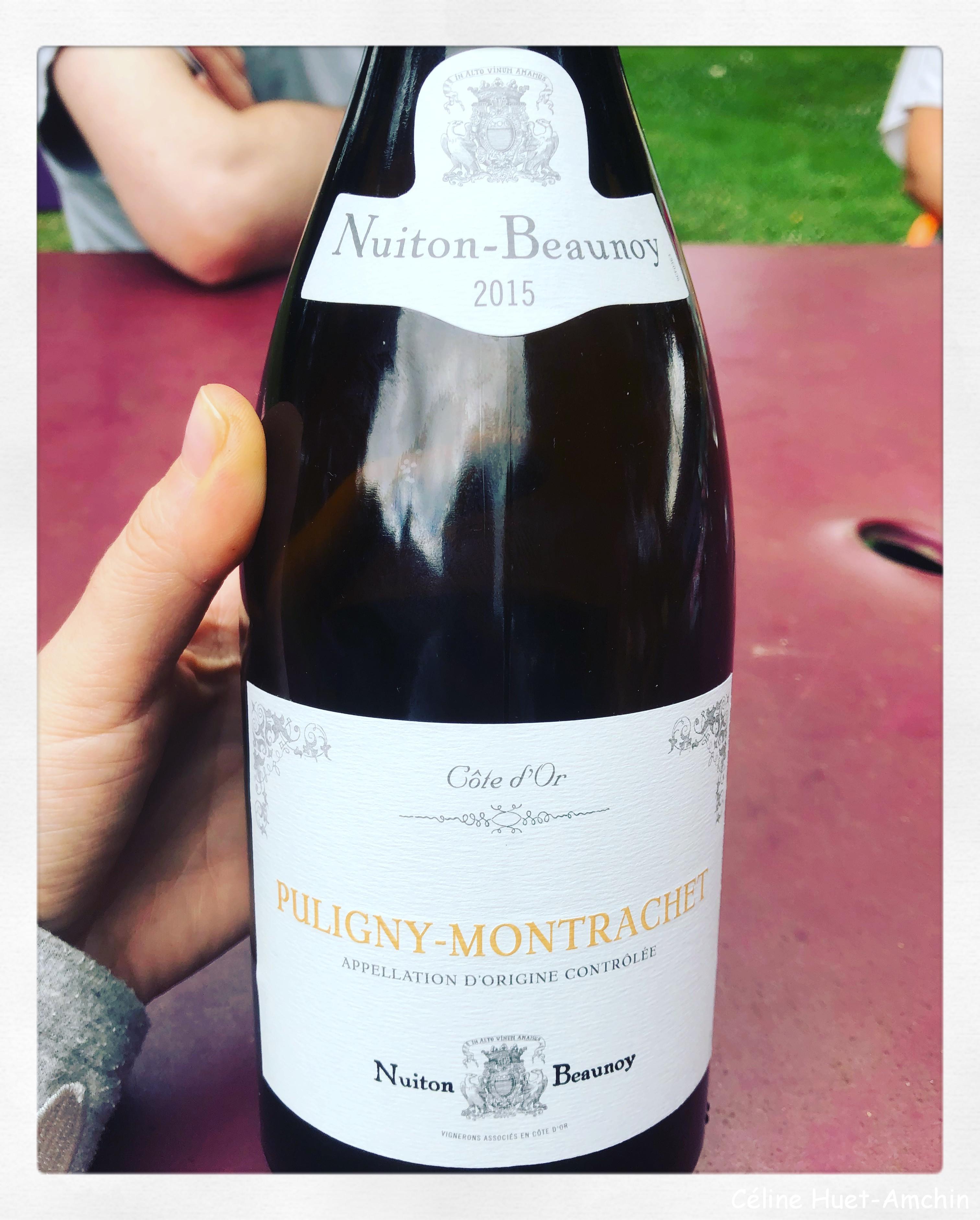 Puligny Montrachet Nuiton-Beaunoy 2015