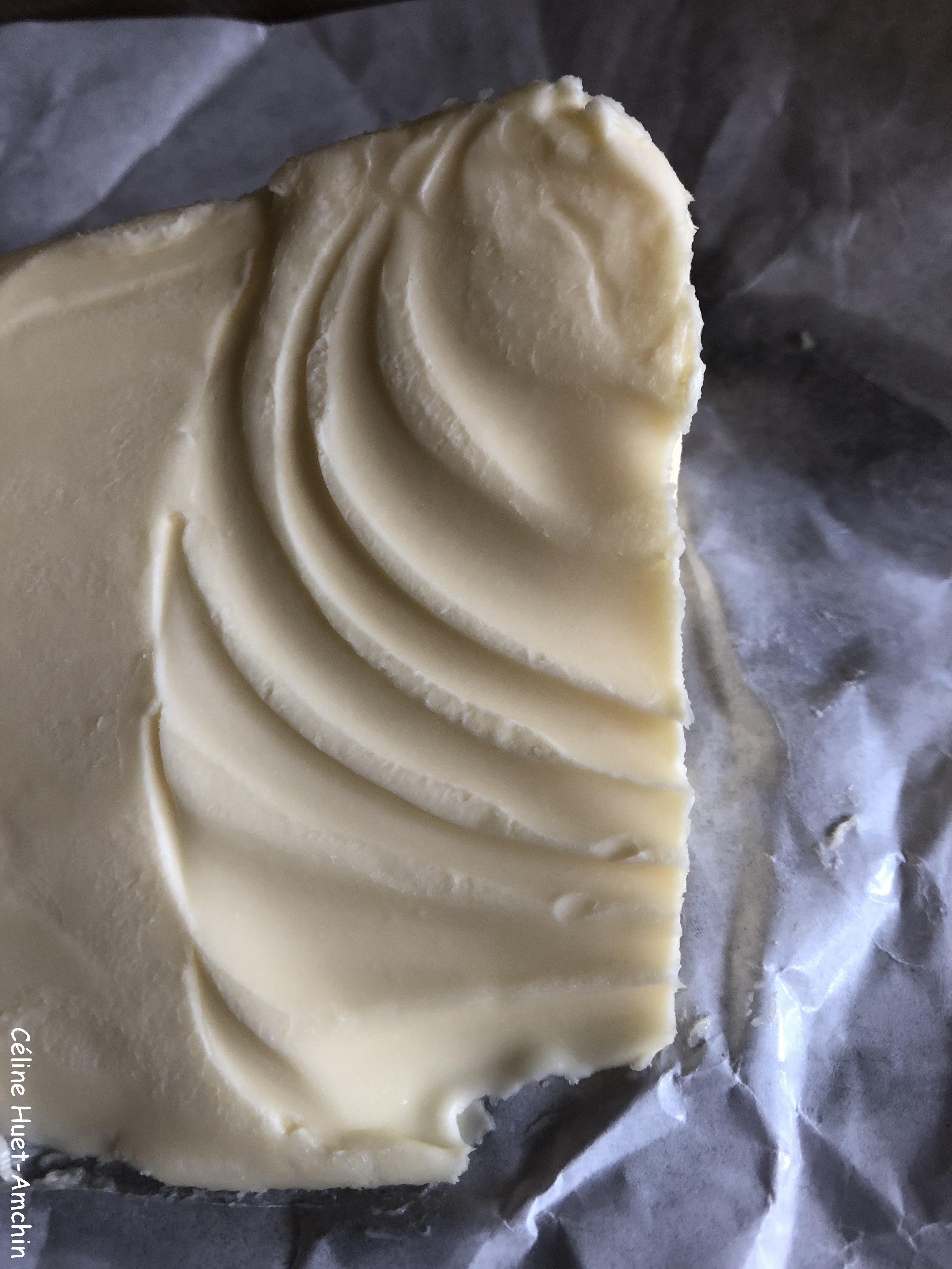 Beurre qui se dévoile