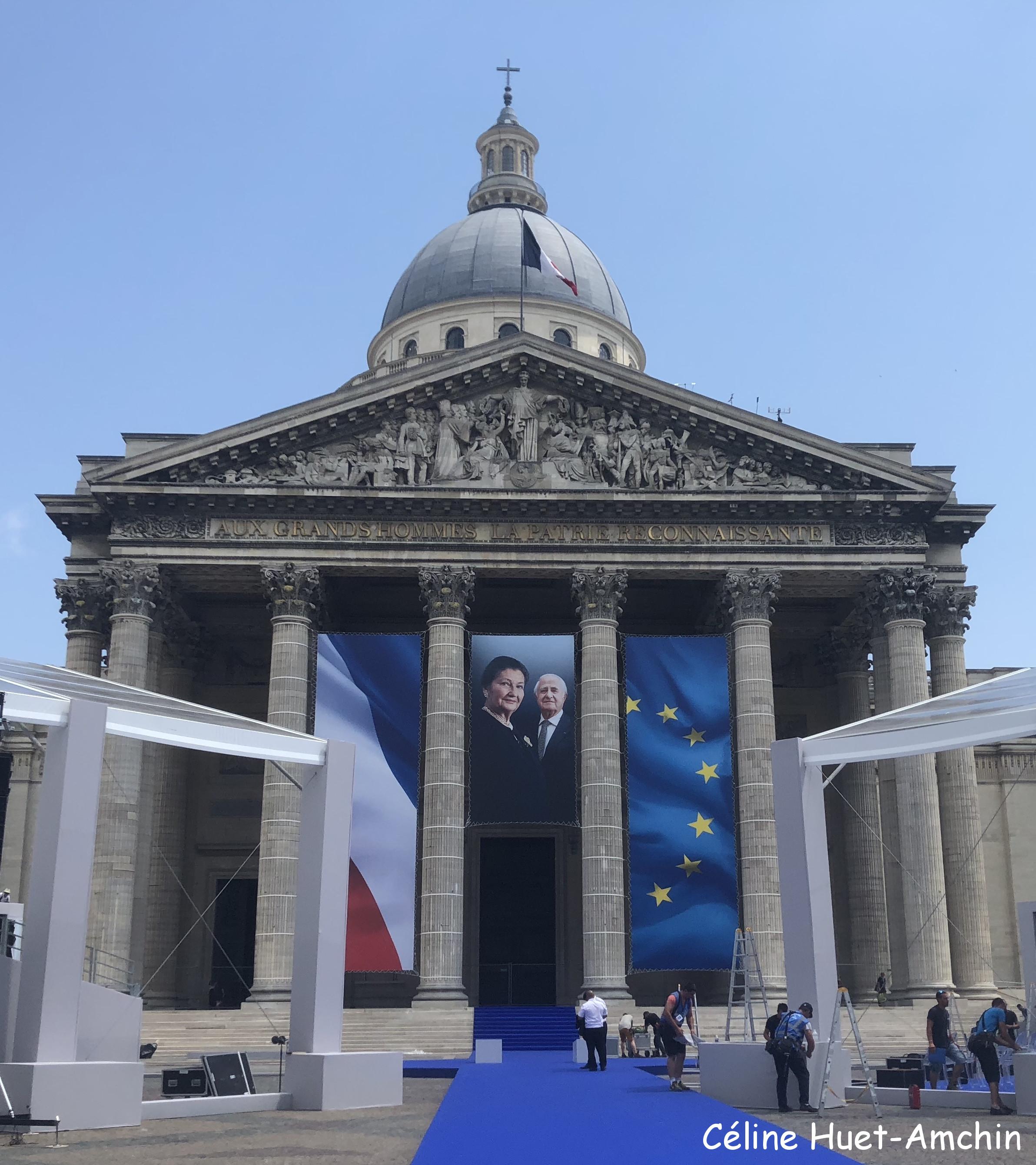 Simone et Antoine Veil Panthéon