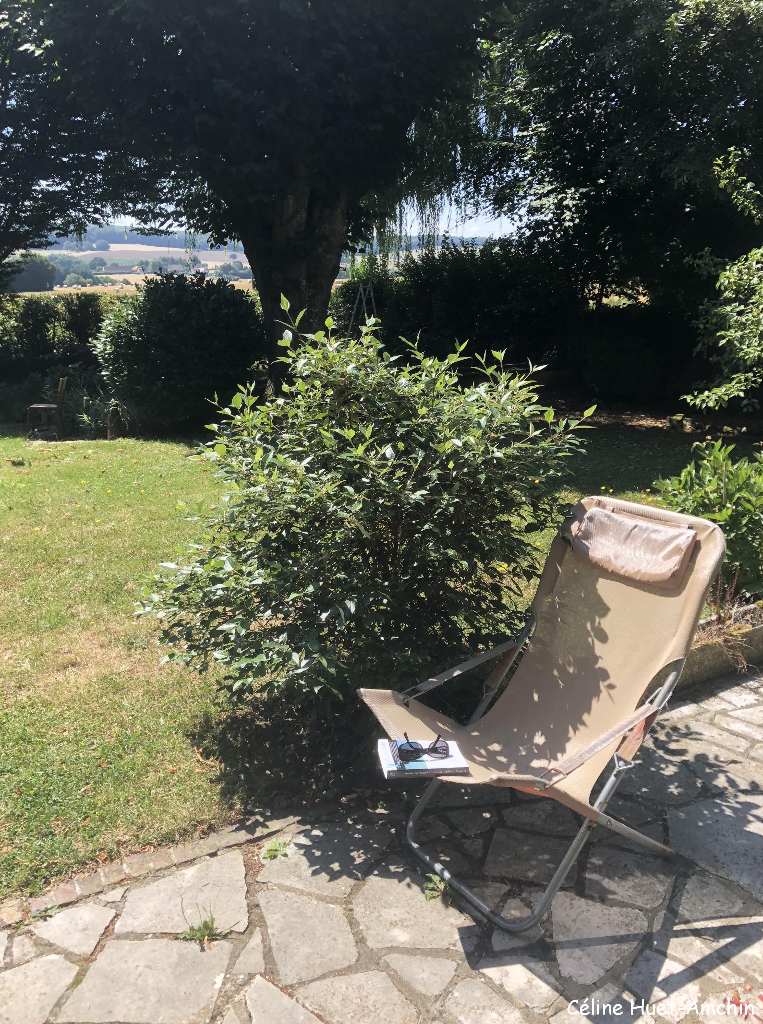 Lecture au soleil Le Perche France