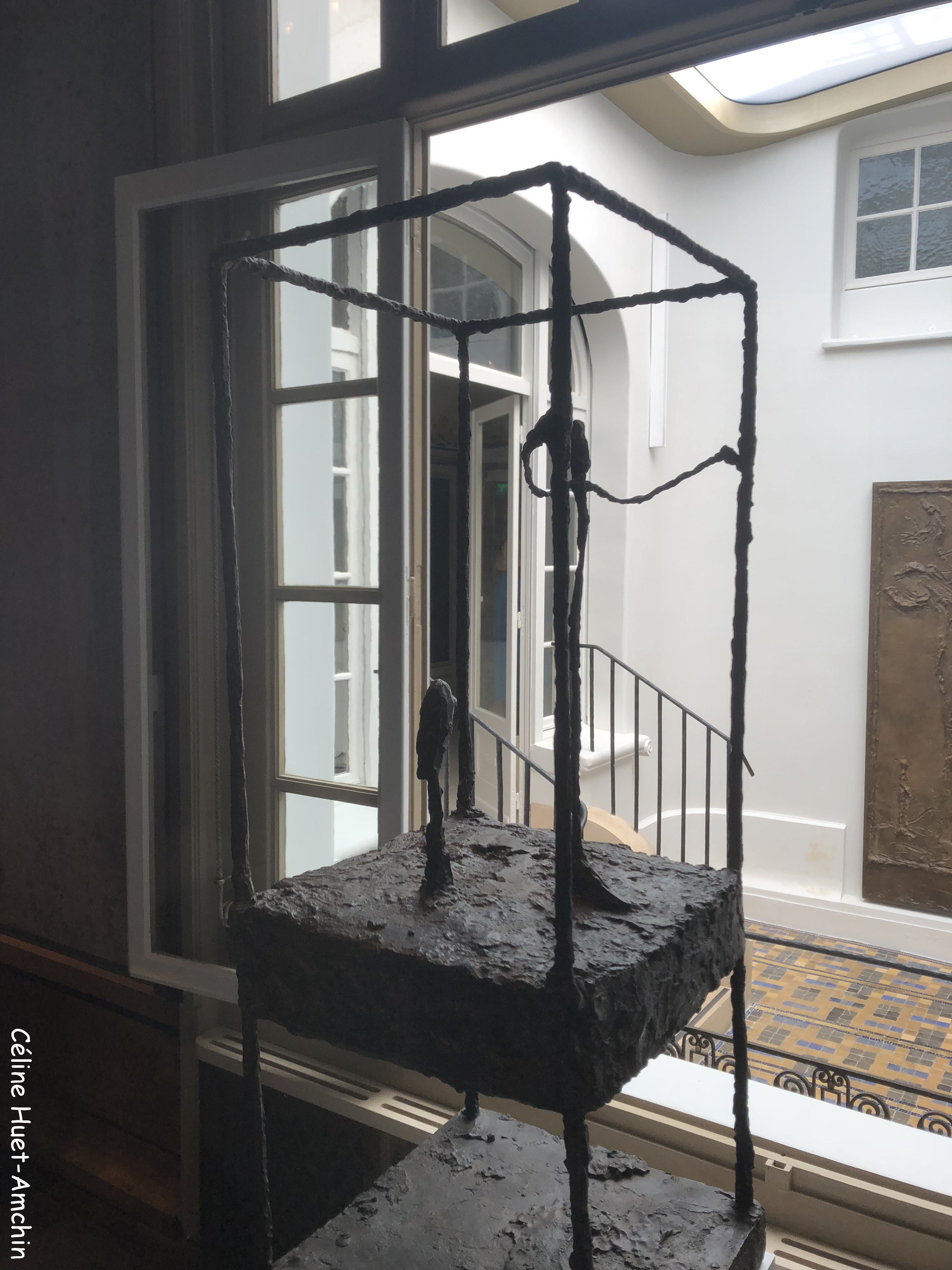 La cage Institut Giacometti Paris