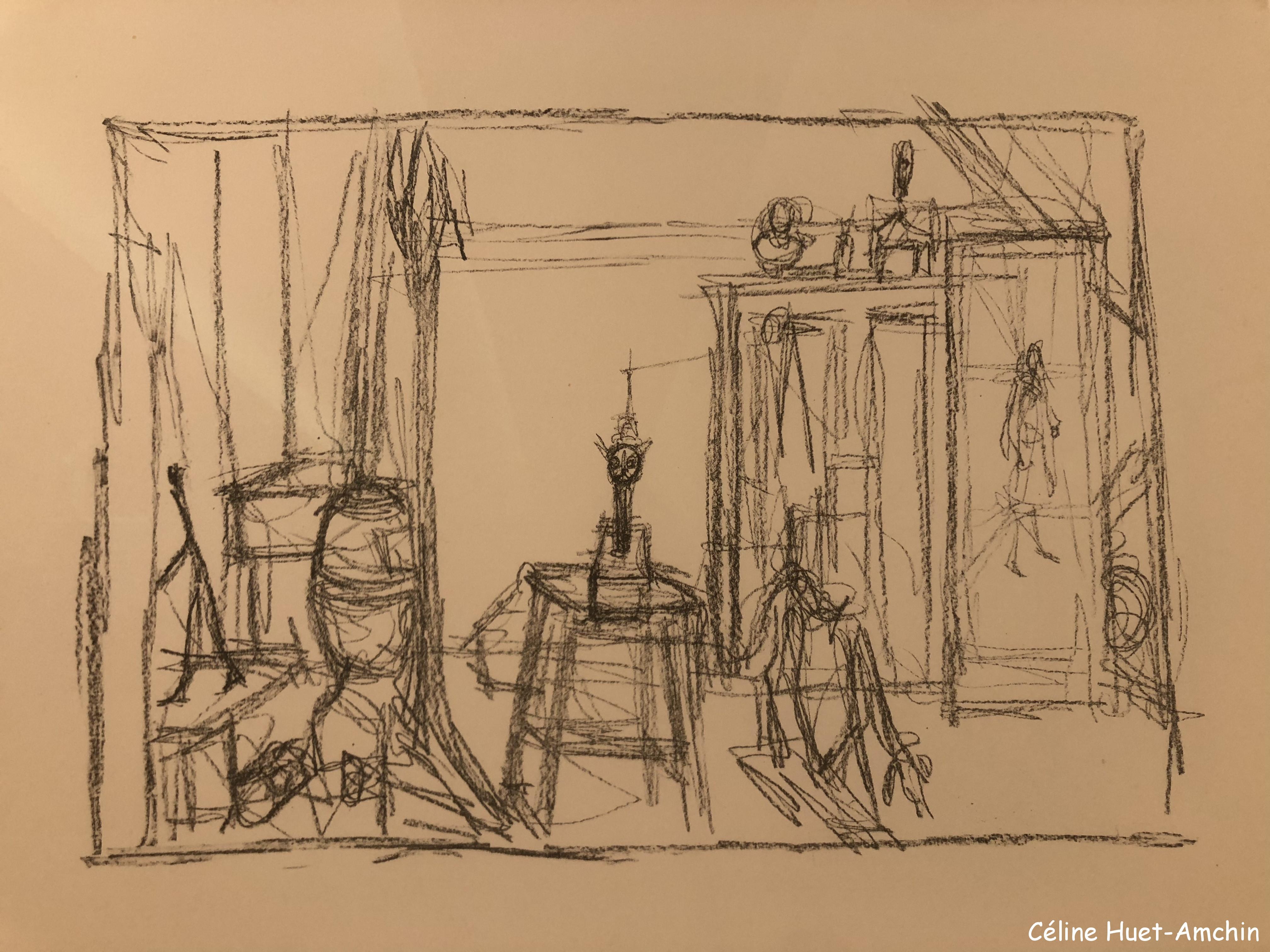 Epreuve d'essai Giacometti Institut Giacometti Paris