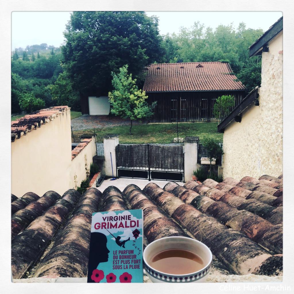 Le parfum du bonheur est plus fort sous la pluie Virginie Grimaldi Editions Le livre de poche / Fayard