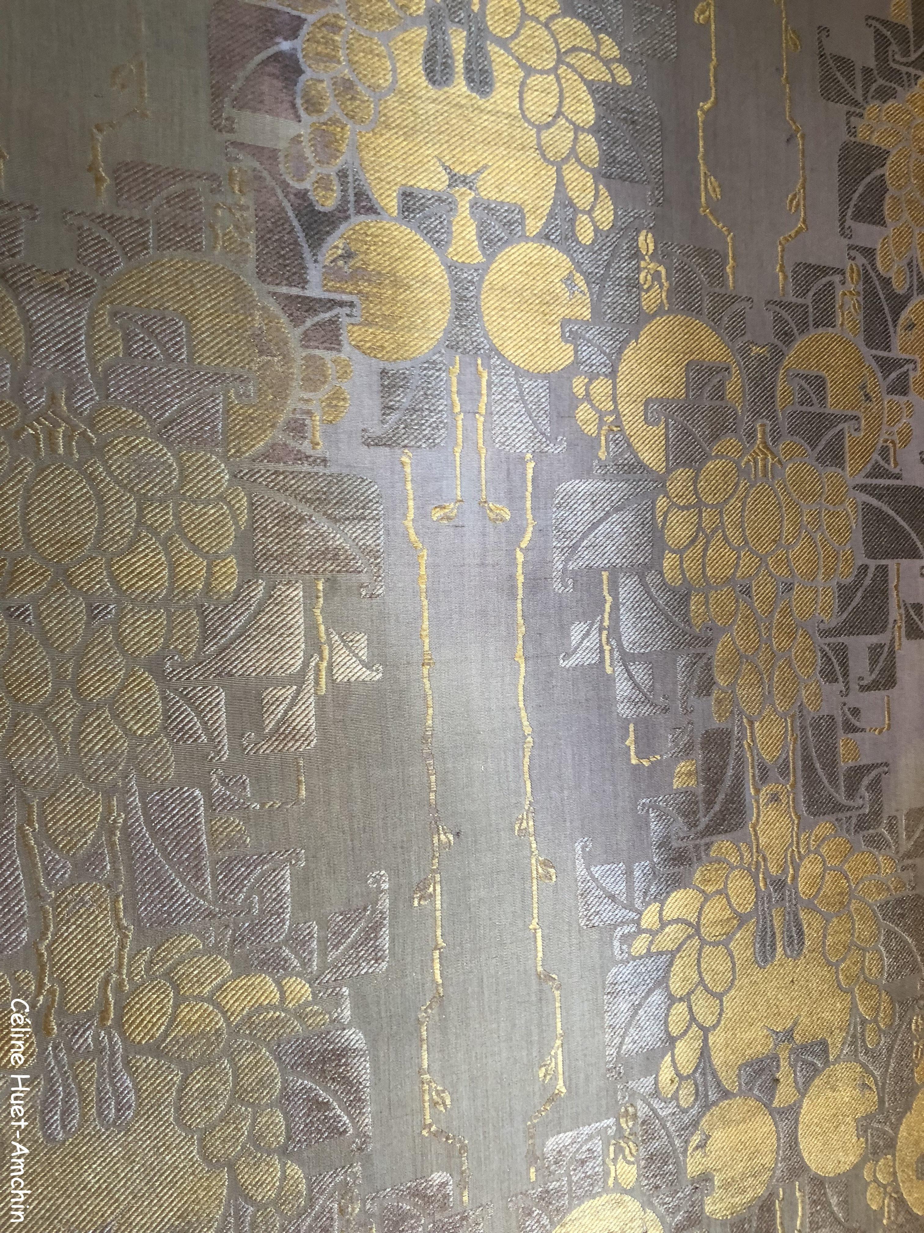 Tapisserie peinte Institut Giacometti Paris