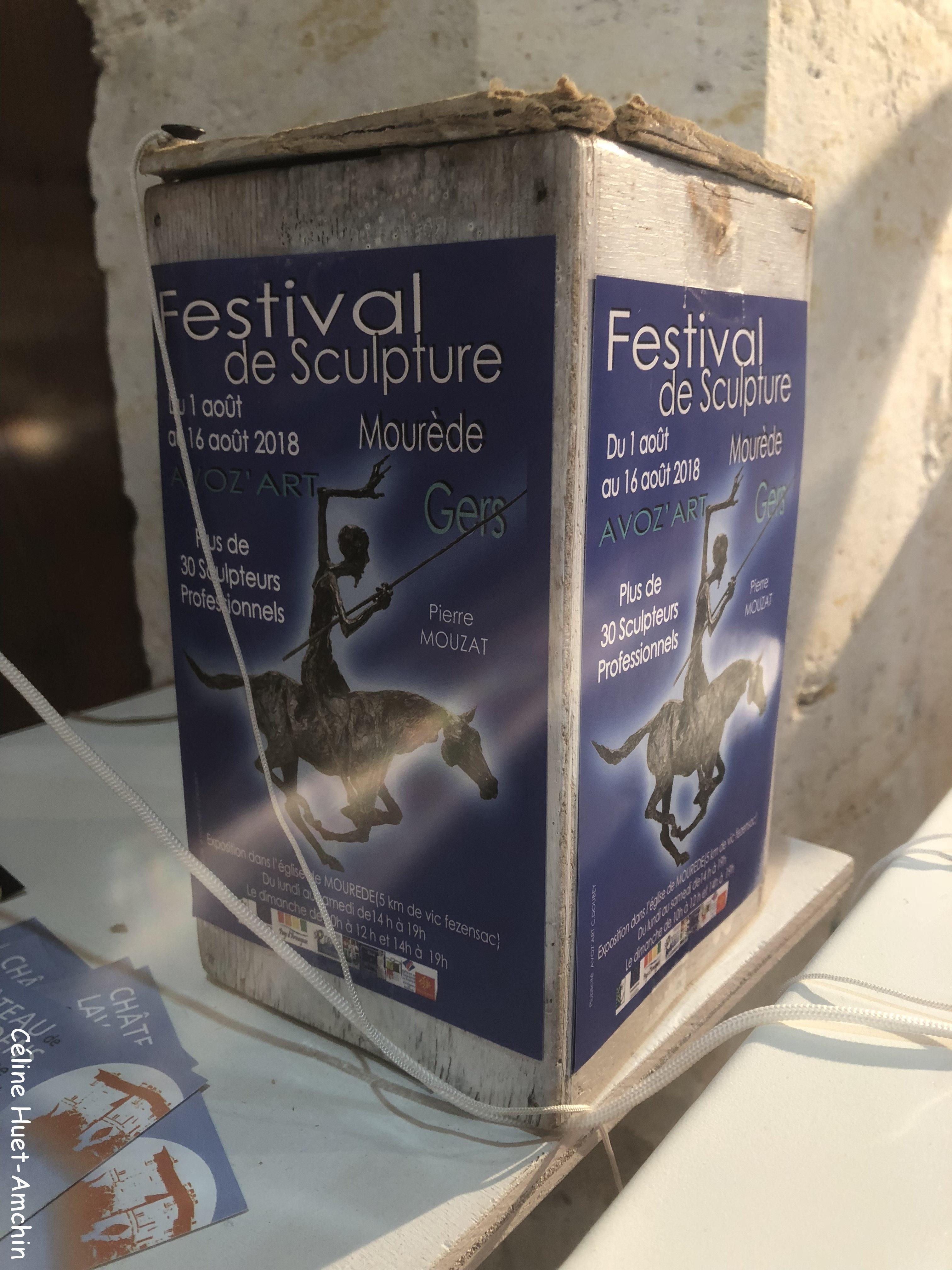 Festival de Sculpture (Mourède, Gers, 2018)