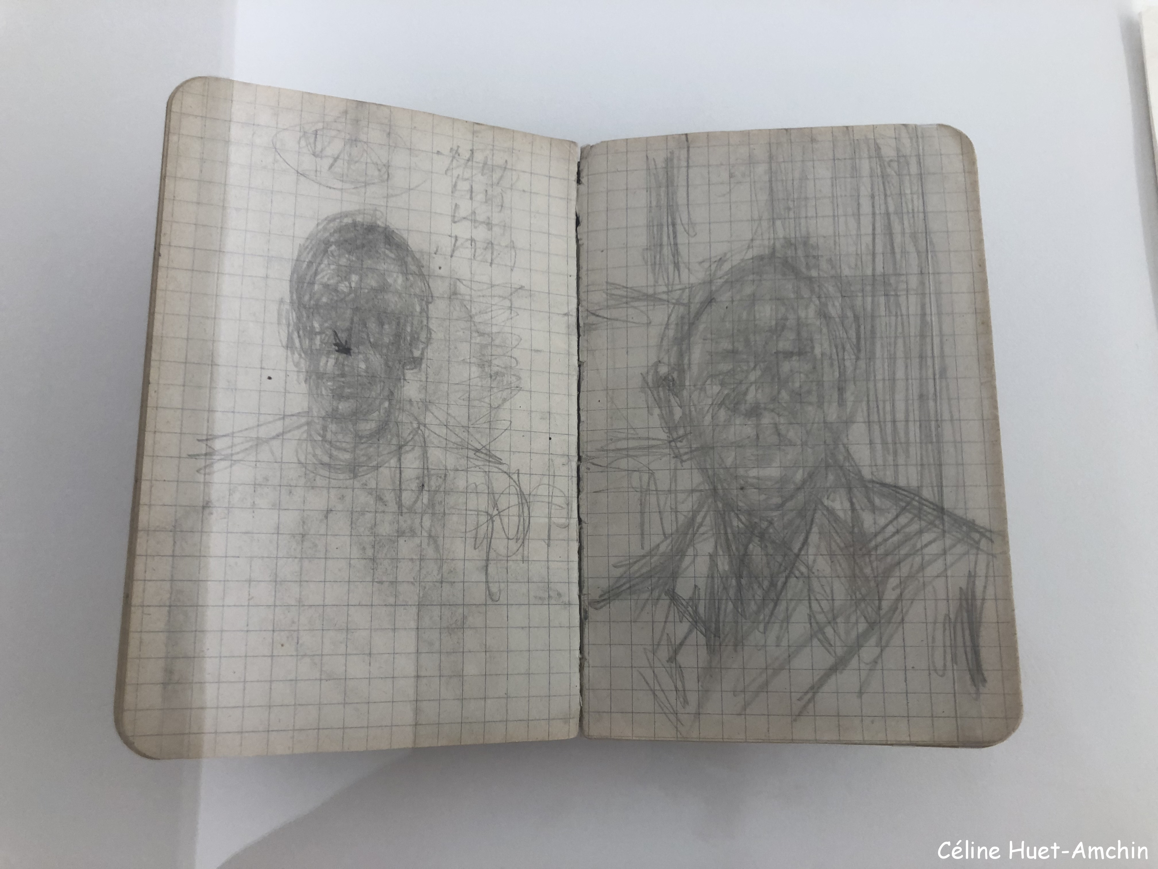 Croquis Giacometti Institut Giacometti Paris
