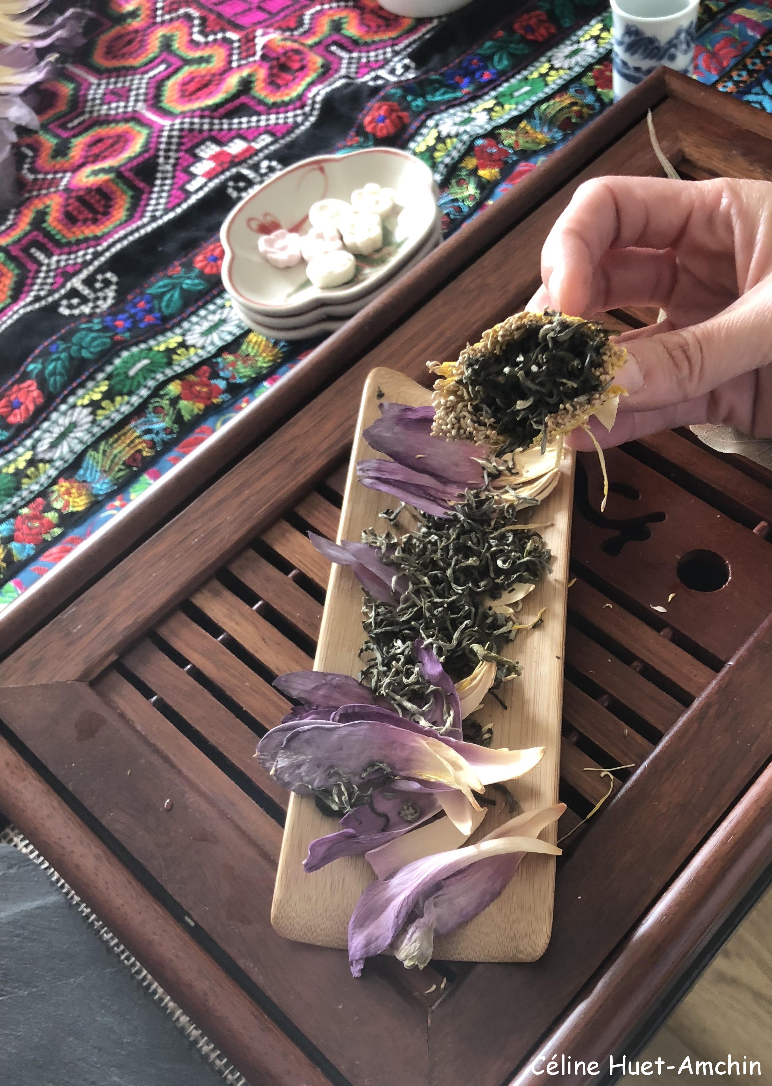 Cérémonie du thé au lotus Paris Sérendipi-Thé