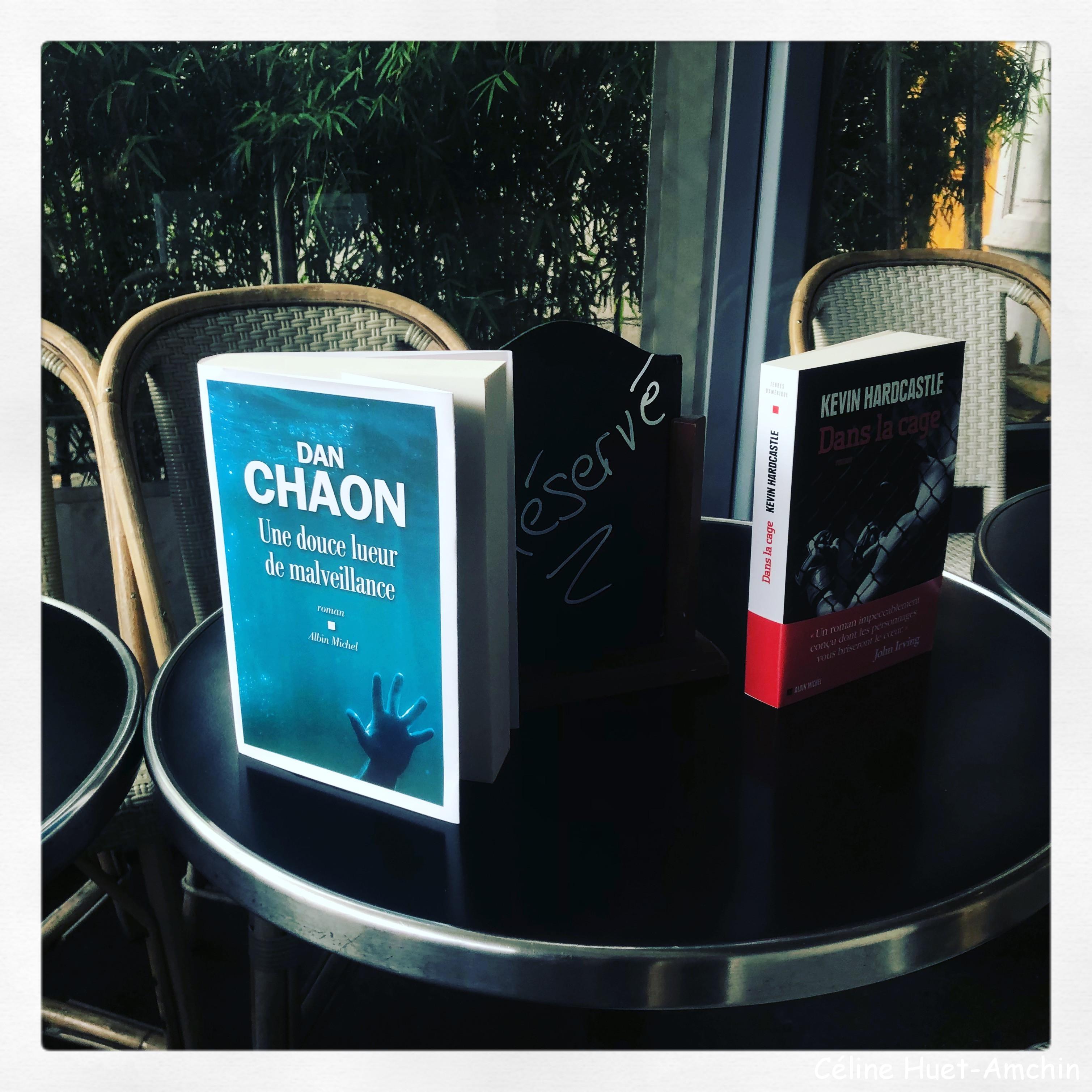 Rencontre Dan Chaon Kevin Hardcastle Editions Albin Michel Café de la Mairie 9e édition Festival America Vincennes
