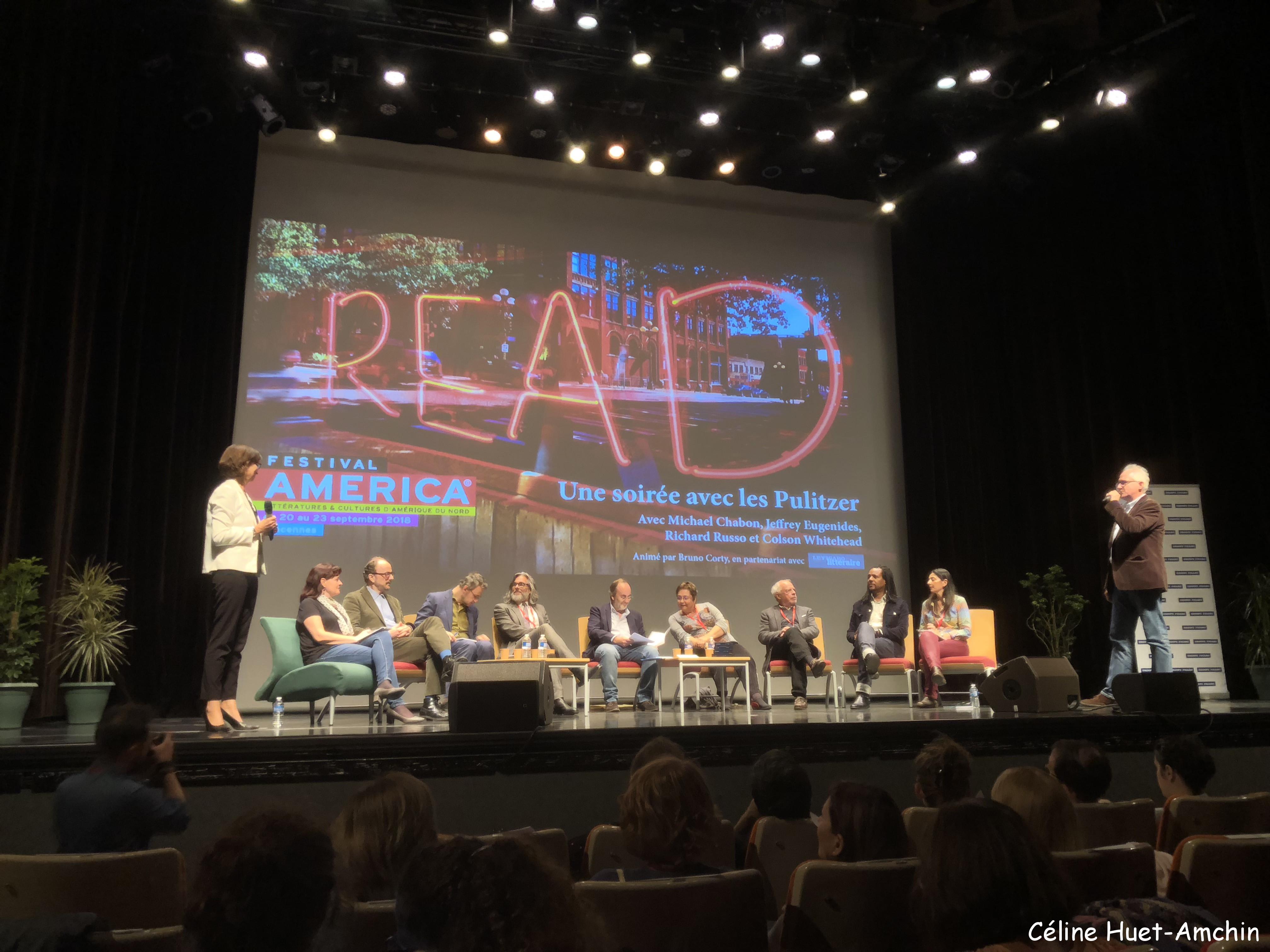 Une soirée avec les Pulitzer 9e édition Festival America Centre Culturel Georges Pompidou Vincennes