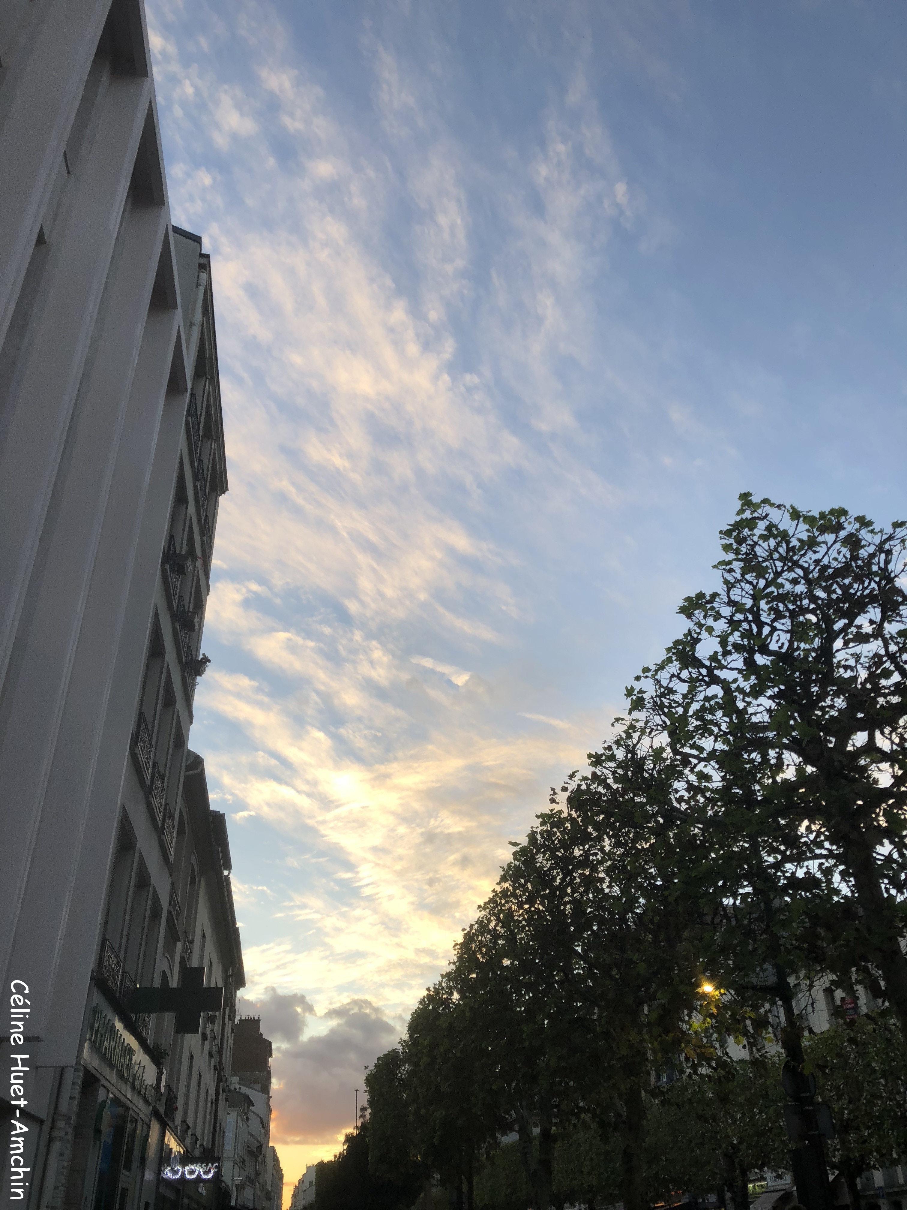 Coucher de soleil Vincennes