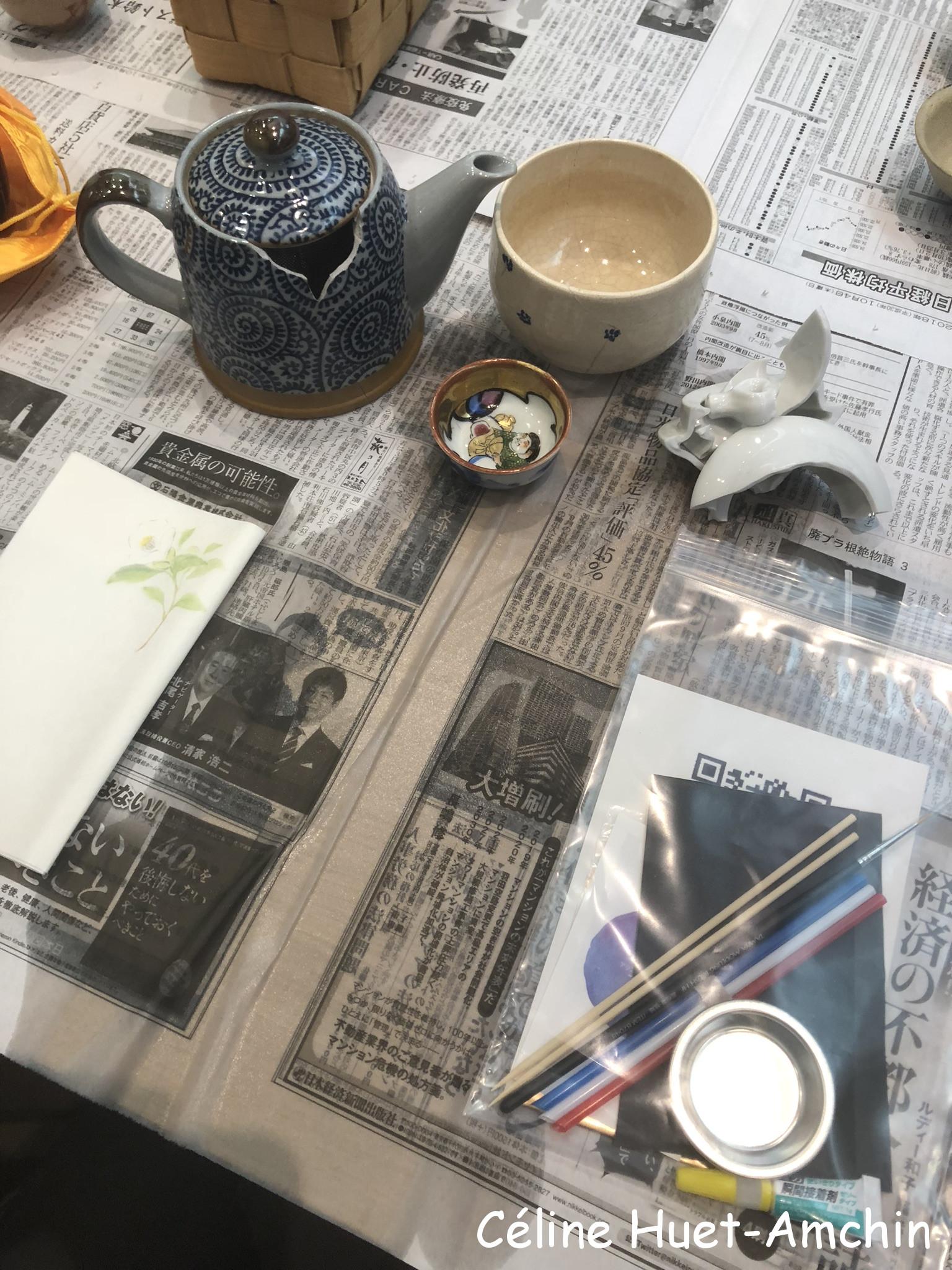 Atelier Kintsugi Librairie Junku Paris