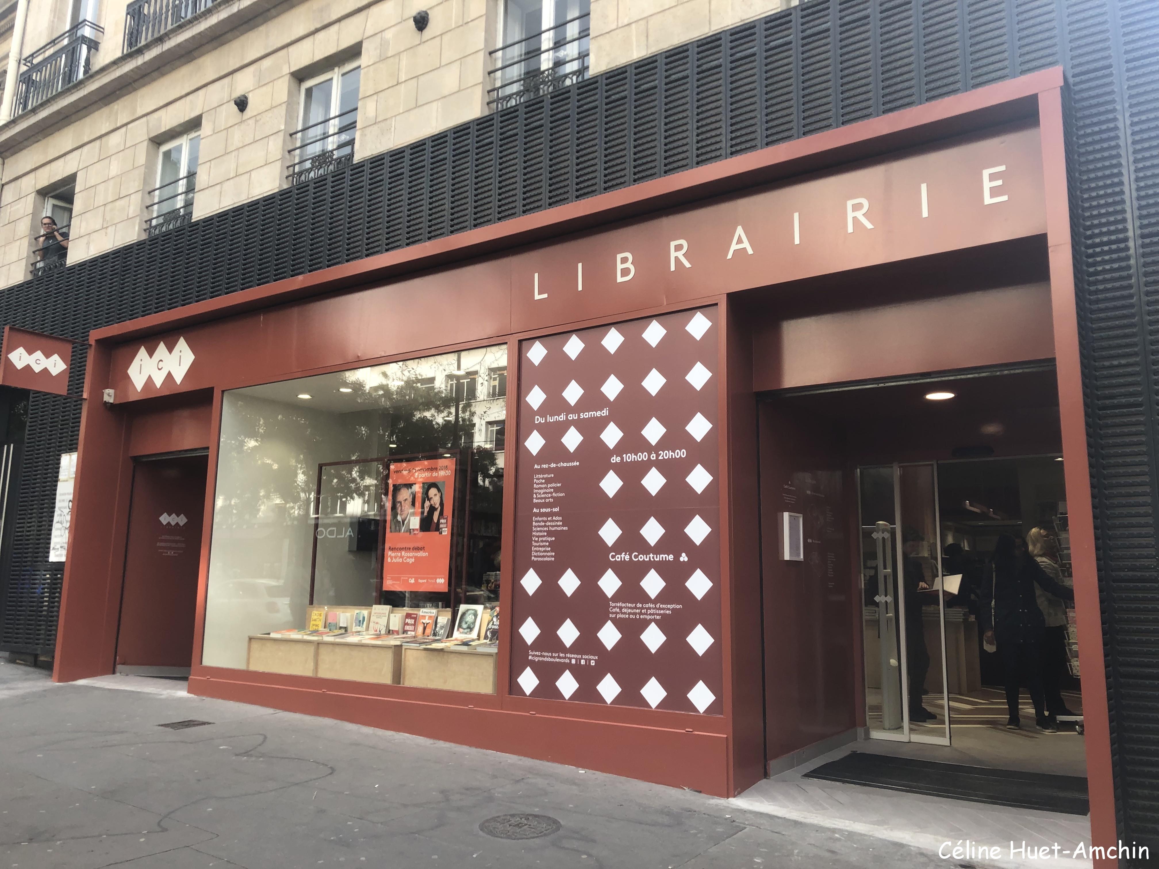 Librairie Ici Grands Boulevards Paris