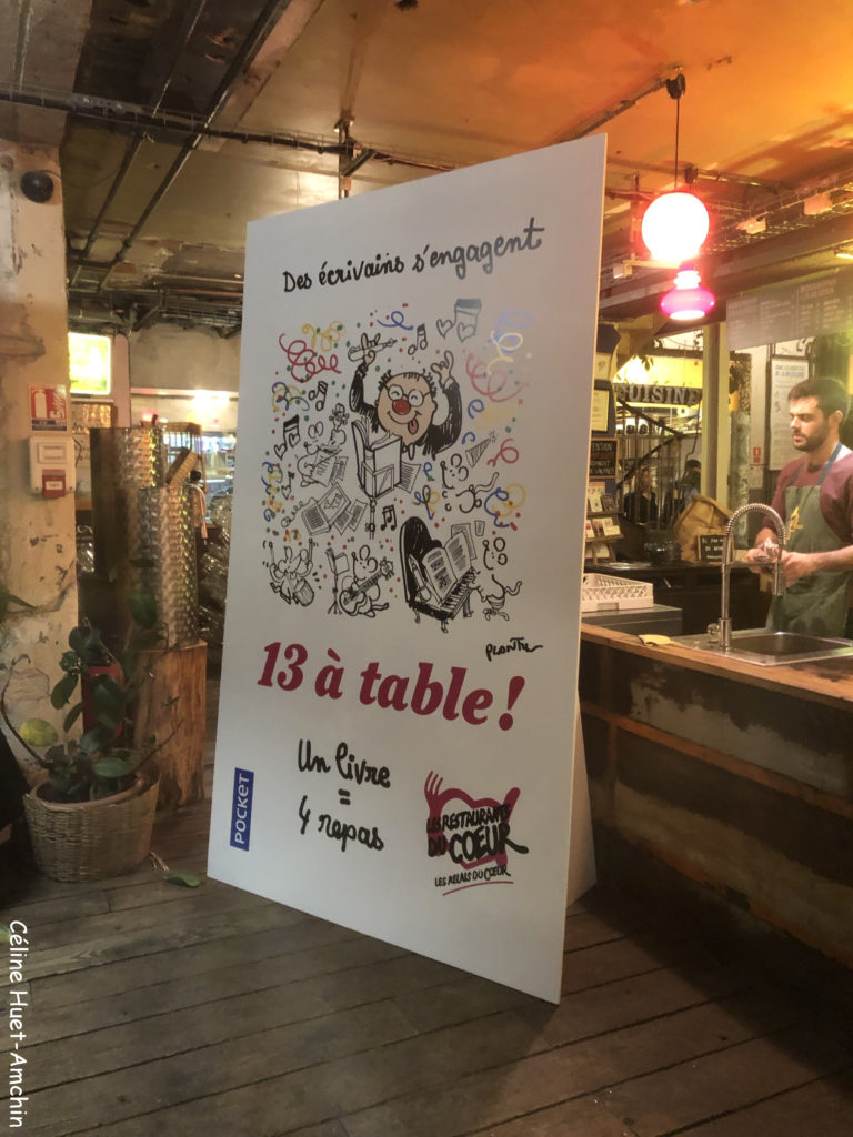 13 à table ! Editions Pocket 2018