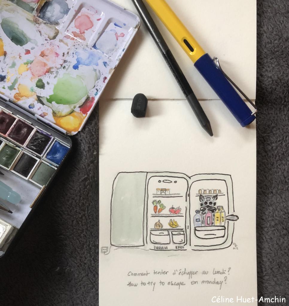 Coonerie n° 1 Illustration création Céline Huet Amchin