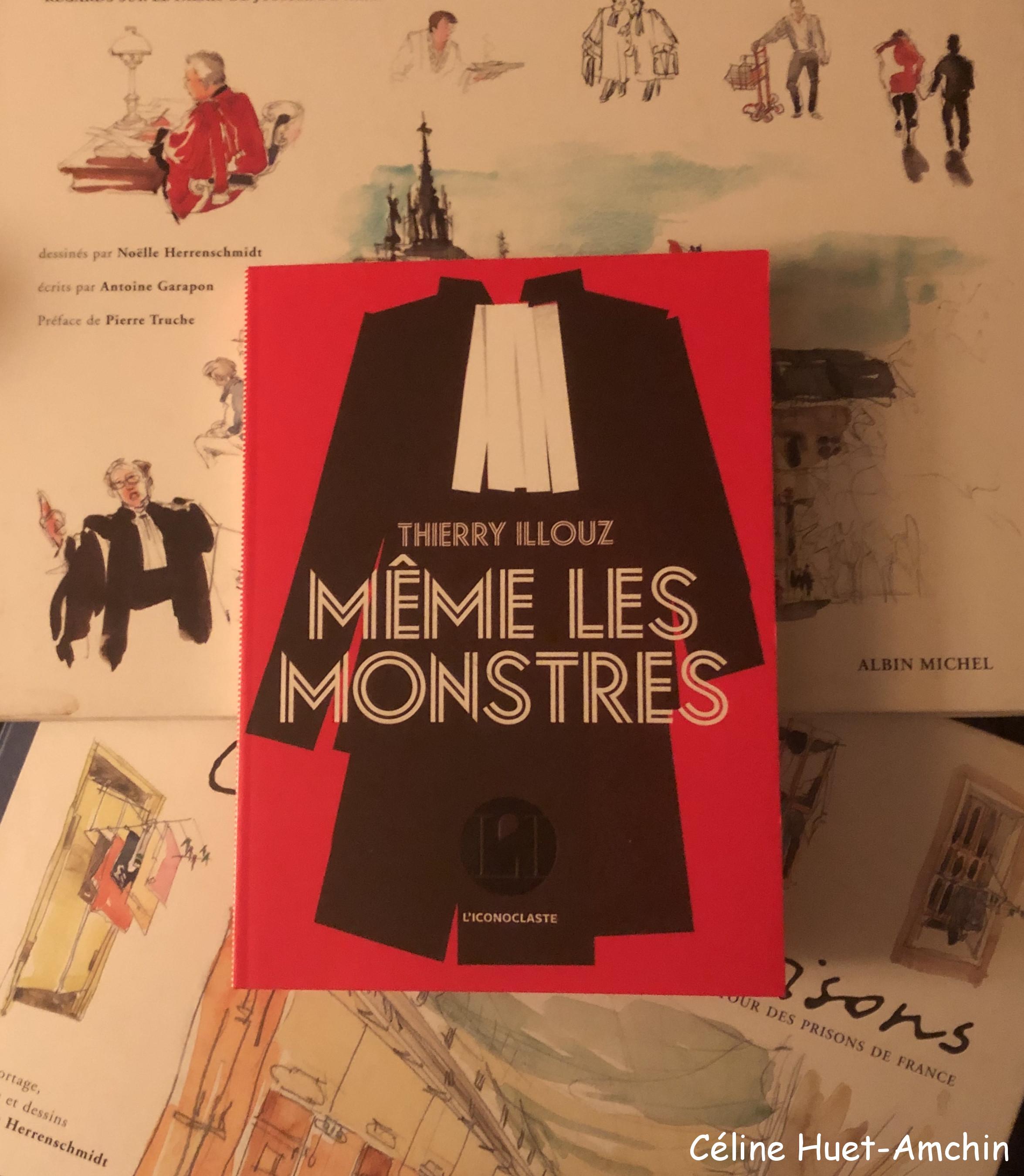 Même les monstres Thierry Illouz Editions Iconoclaste