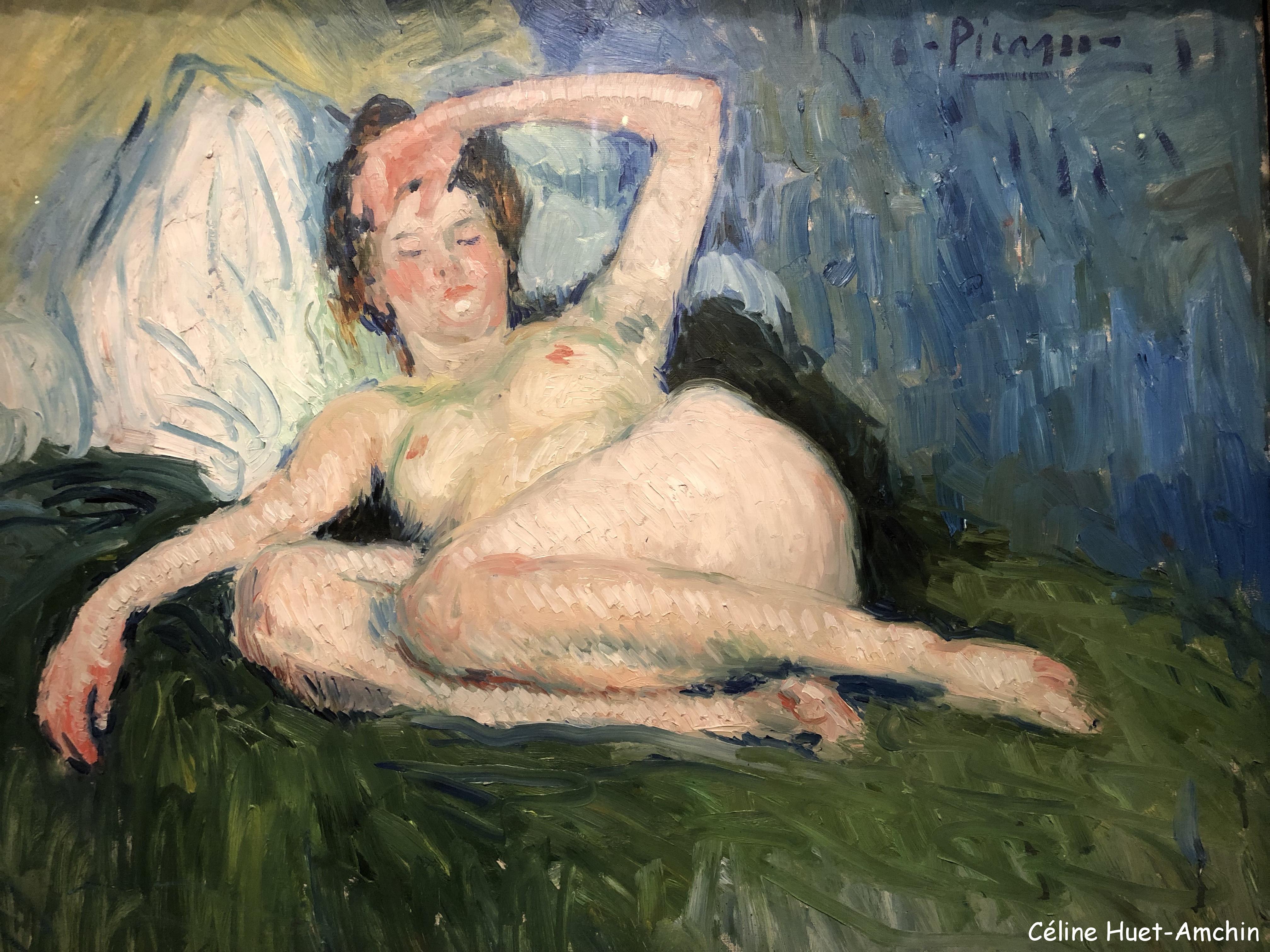 Jeanne Exposition Picasso bleu et rose Musée d'Orsay Paris