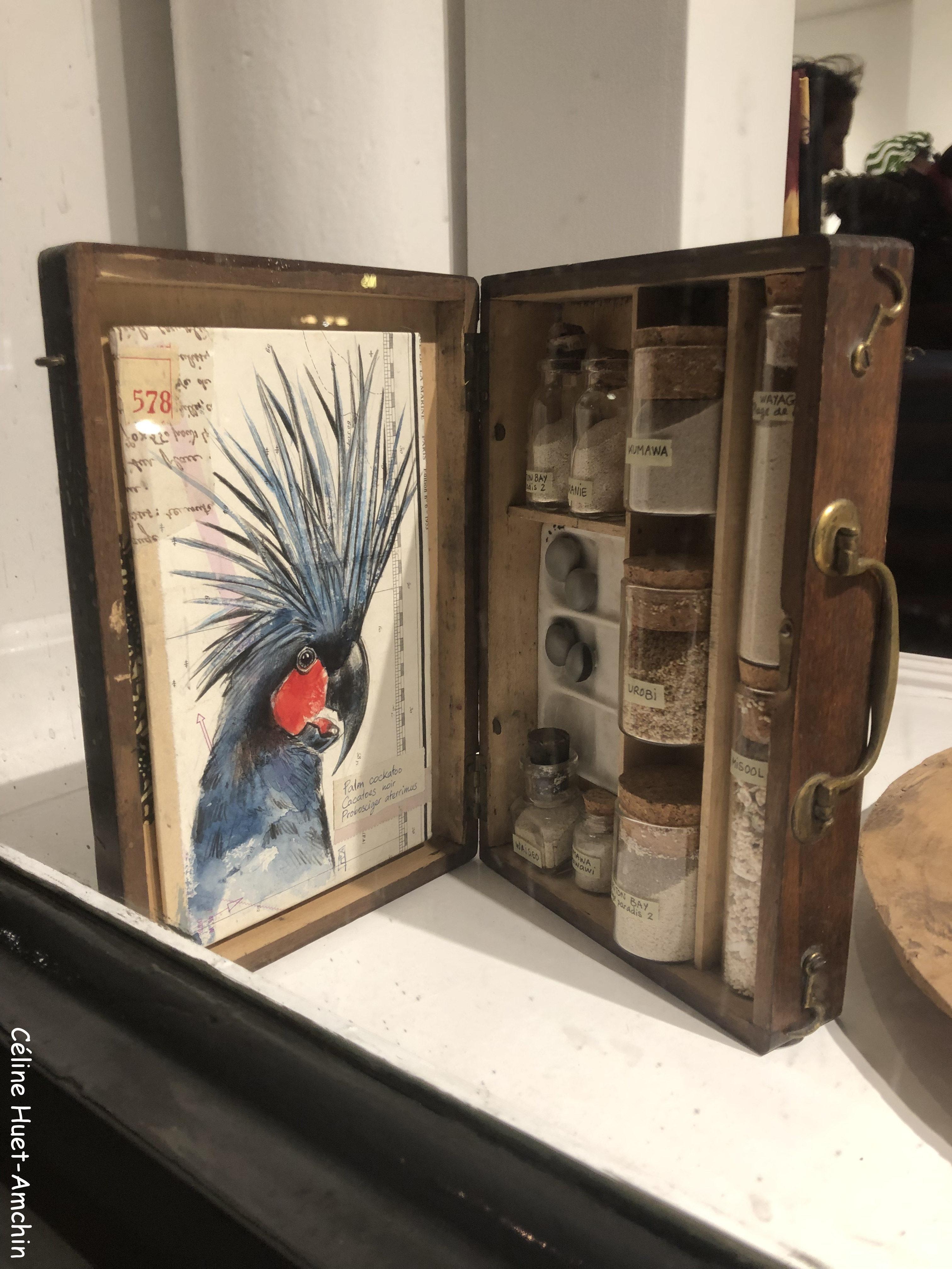Exposition Djenkafo Stéphanie Ledoux Maud Villaret Toubab Paris Espace Beaurepaire Paris
