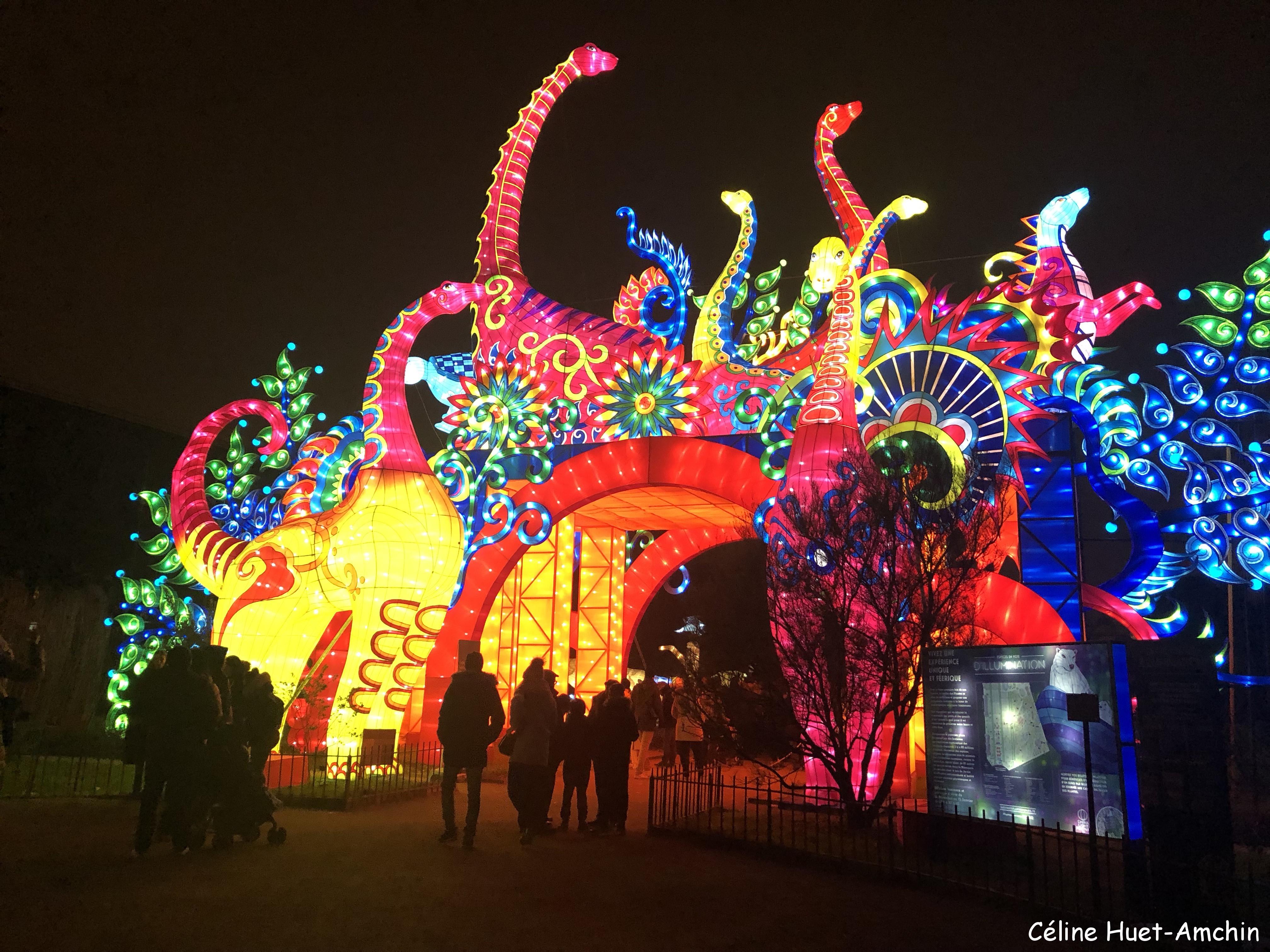 """""""Espèces en voie d'illumination"""" (Jardin des Plantes, Paris)"""