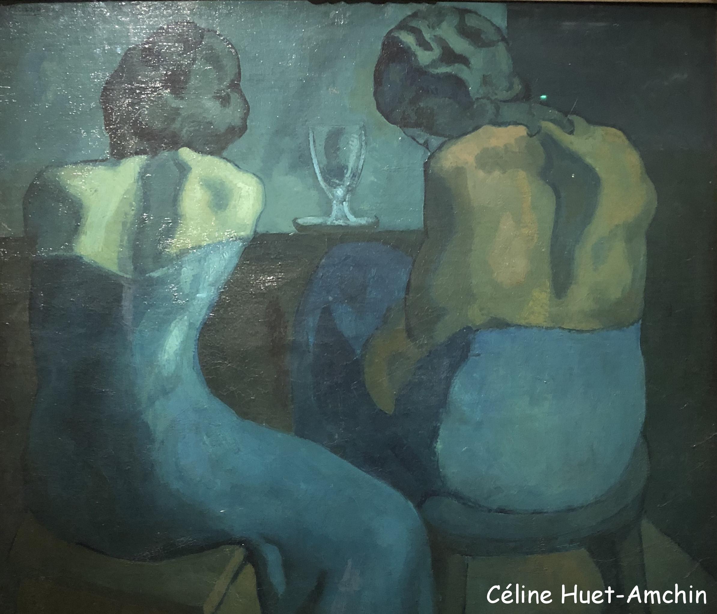 Pierreuses au bar Exposition Picasso bleu et rose Musée d'Orsay Paris