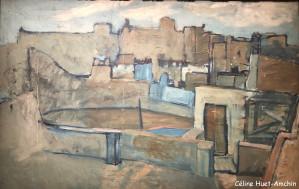 Les toits de Barcelone Exposition Picasso bleu et rose Musée d'Orsay Paris