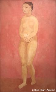 Nu aux mains jointes Exposition Picasso bleu et rose Musée d'Orsay Paris
