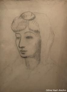 Fernande à la mantille blanche Exposition Picasso bleu et rose Musée d'Orsay Paris