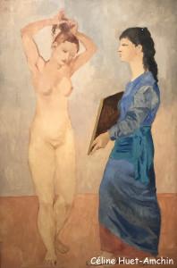 La toilette Exposition Picasso bleu et rose Musée d'Orsay Paris