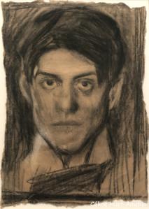 Autoportrait Exposition Picasso bleu et rose Musée d'Orsay Paris