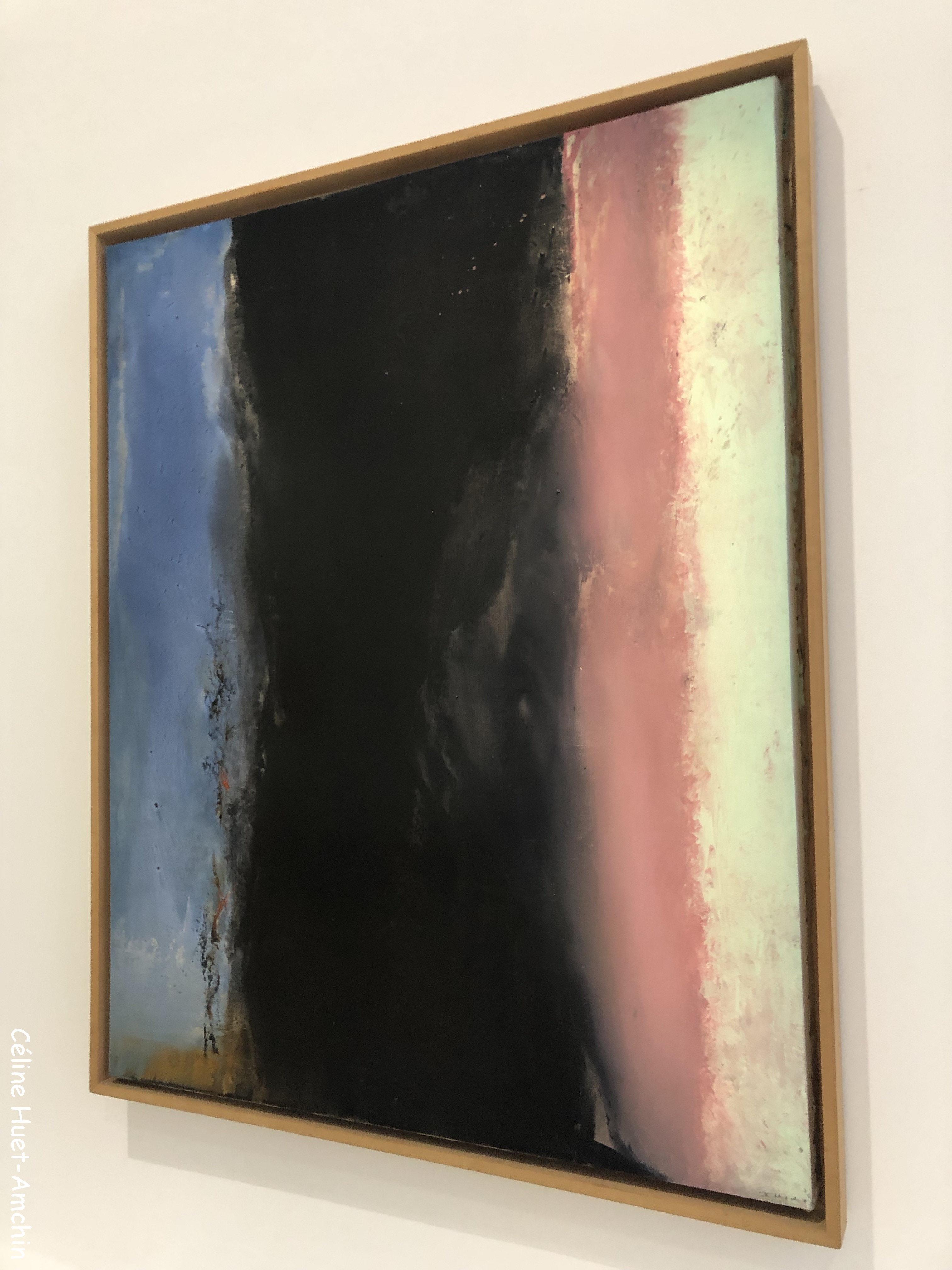 Hommage à Henri Matisse 1986 Zao Wou-Ki L'espace est silence MAM Paris
