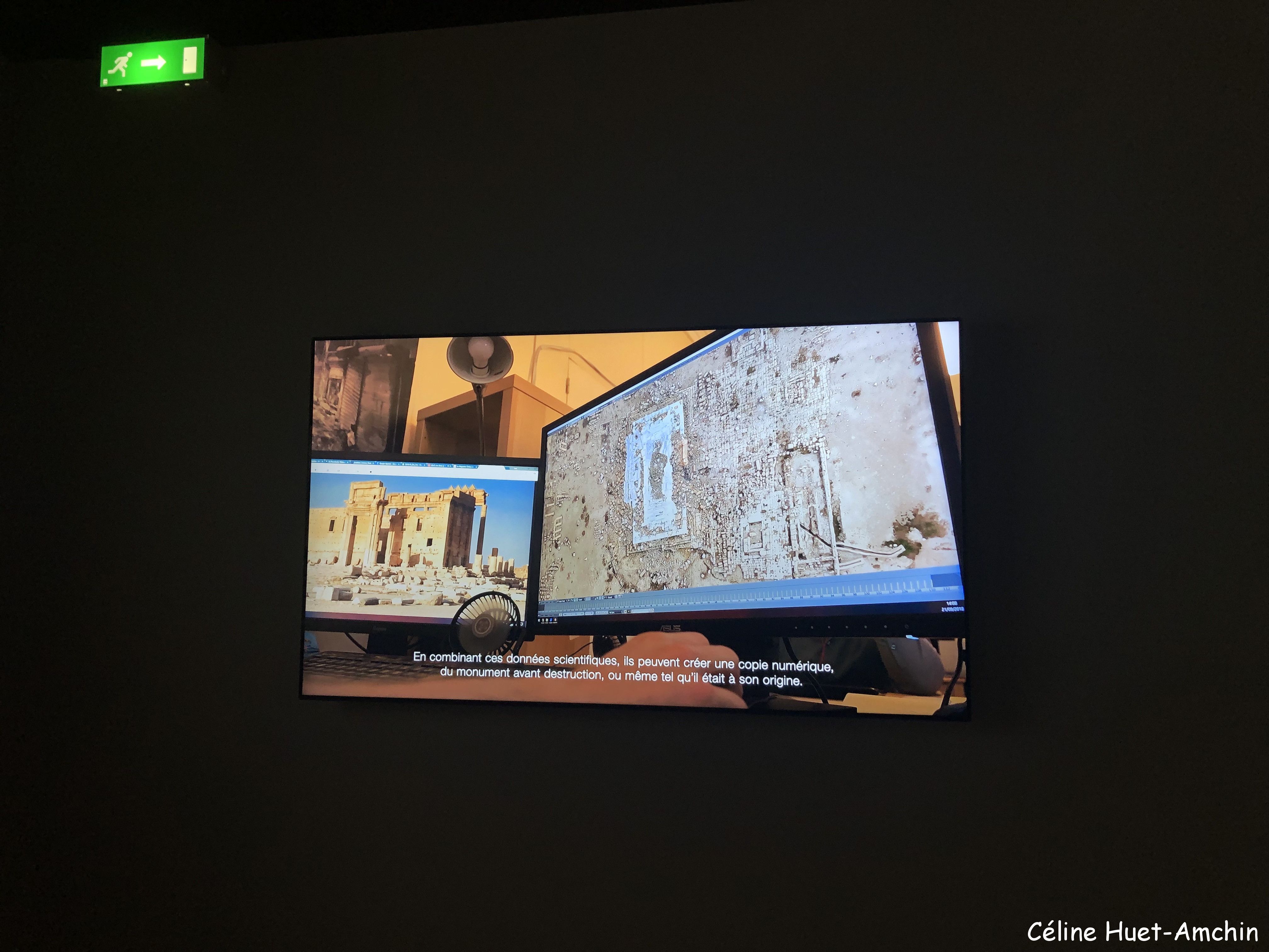 Exposition Cités millénaires : voyage virtuel de Palmyre à Mossoul Institut du Monde Arabe Paris