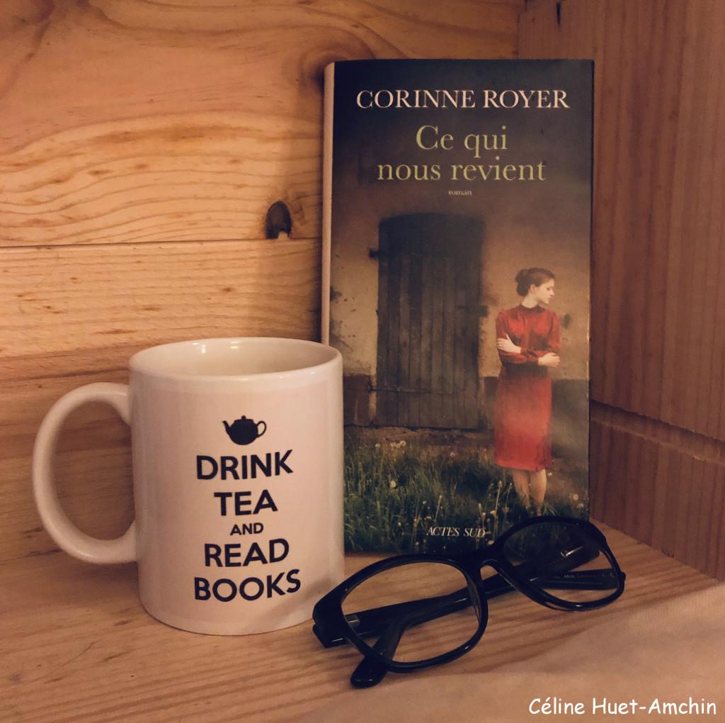 """""""Ce qui nous revient"""" de Corinne Royer..."""