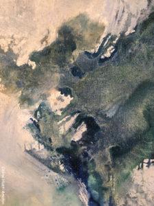 1974 Zao Wou-Ki L'espace est silence MAM Paris