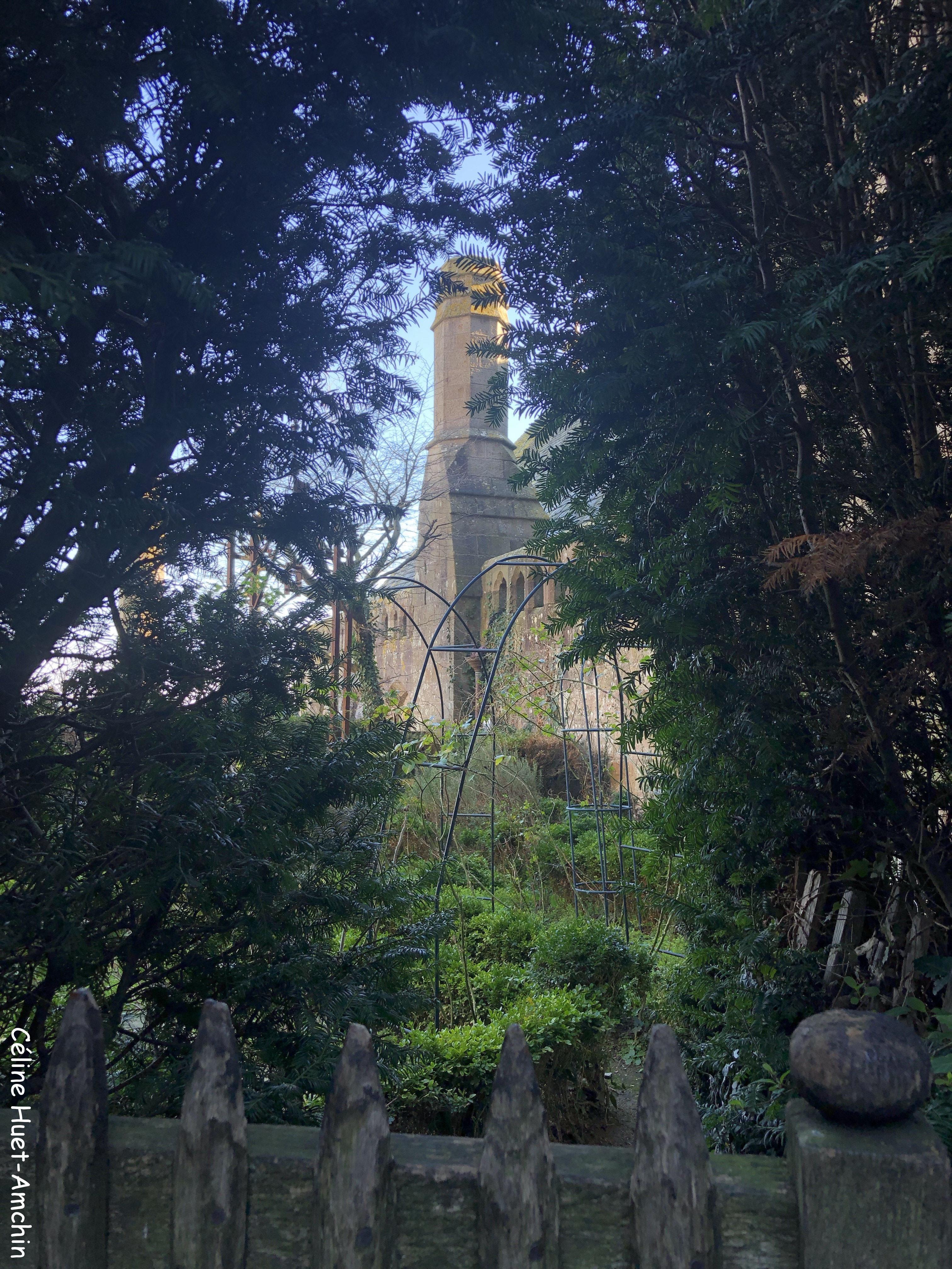 Roseraie du Mont Saint-Michel Normandie