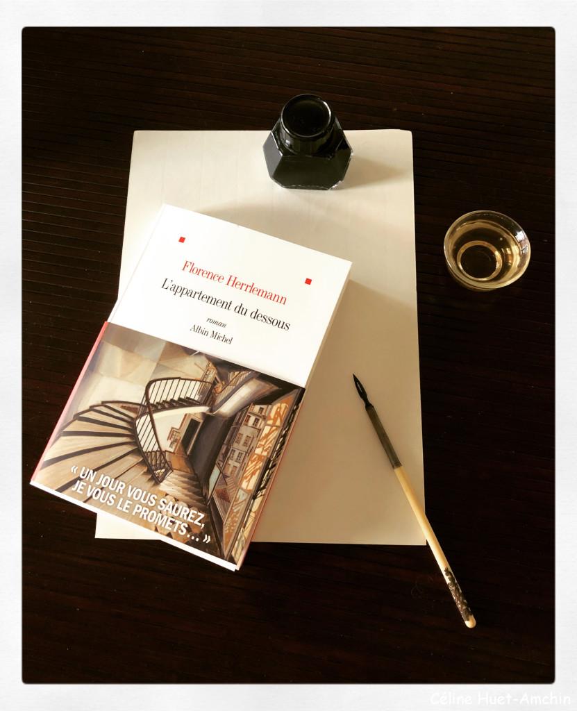 """""""L'appartement du dessous"""" de Florence Herrlemann..."""