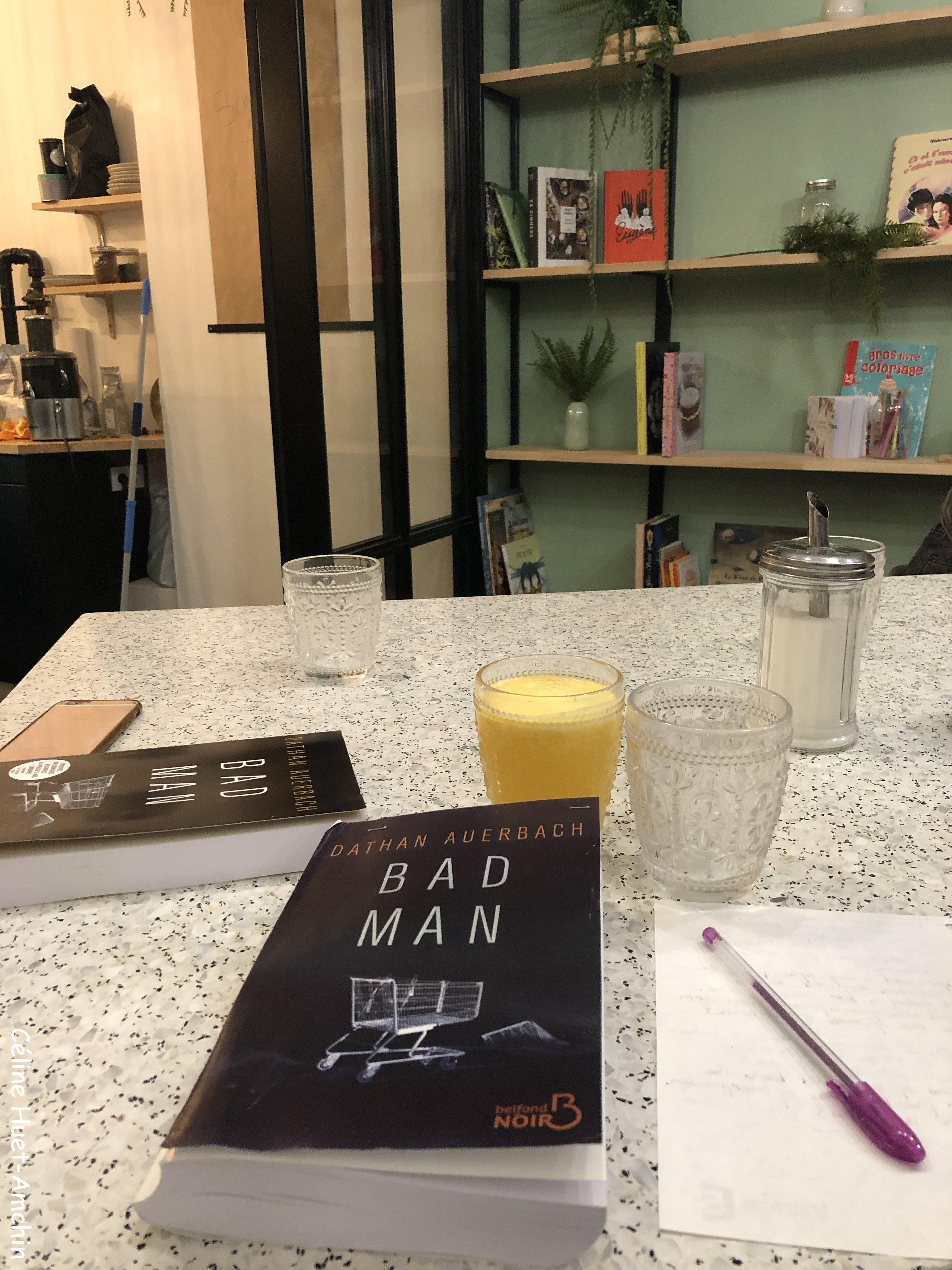 Bad man Dathan Auerbach Editions Belfond Noir Coeur de Baker Paris