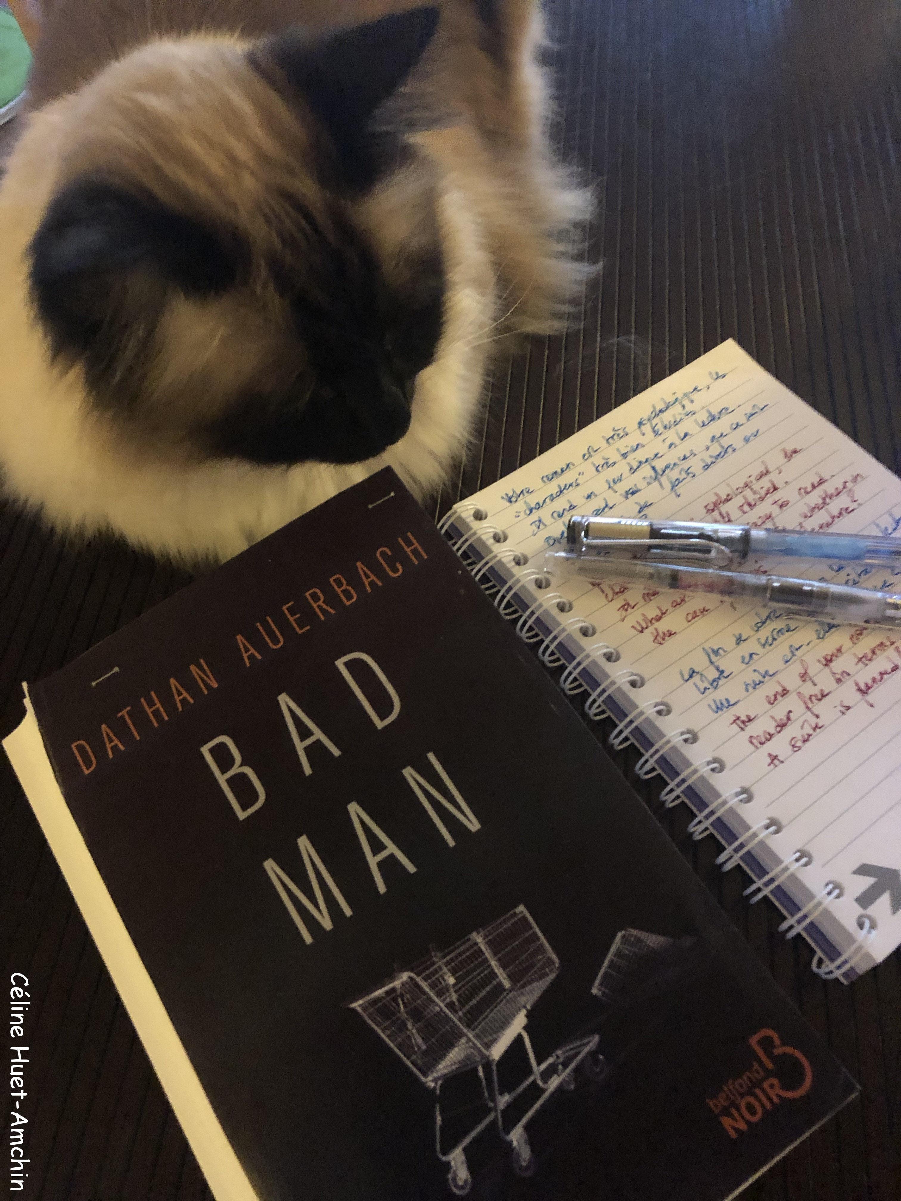 Bad man Dathan Auerbach Editions Belfond Noir