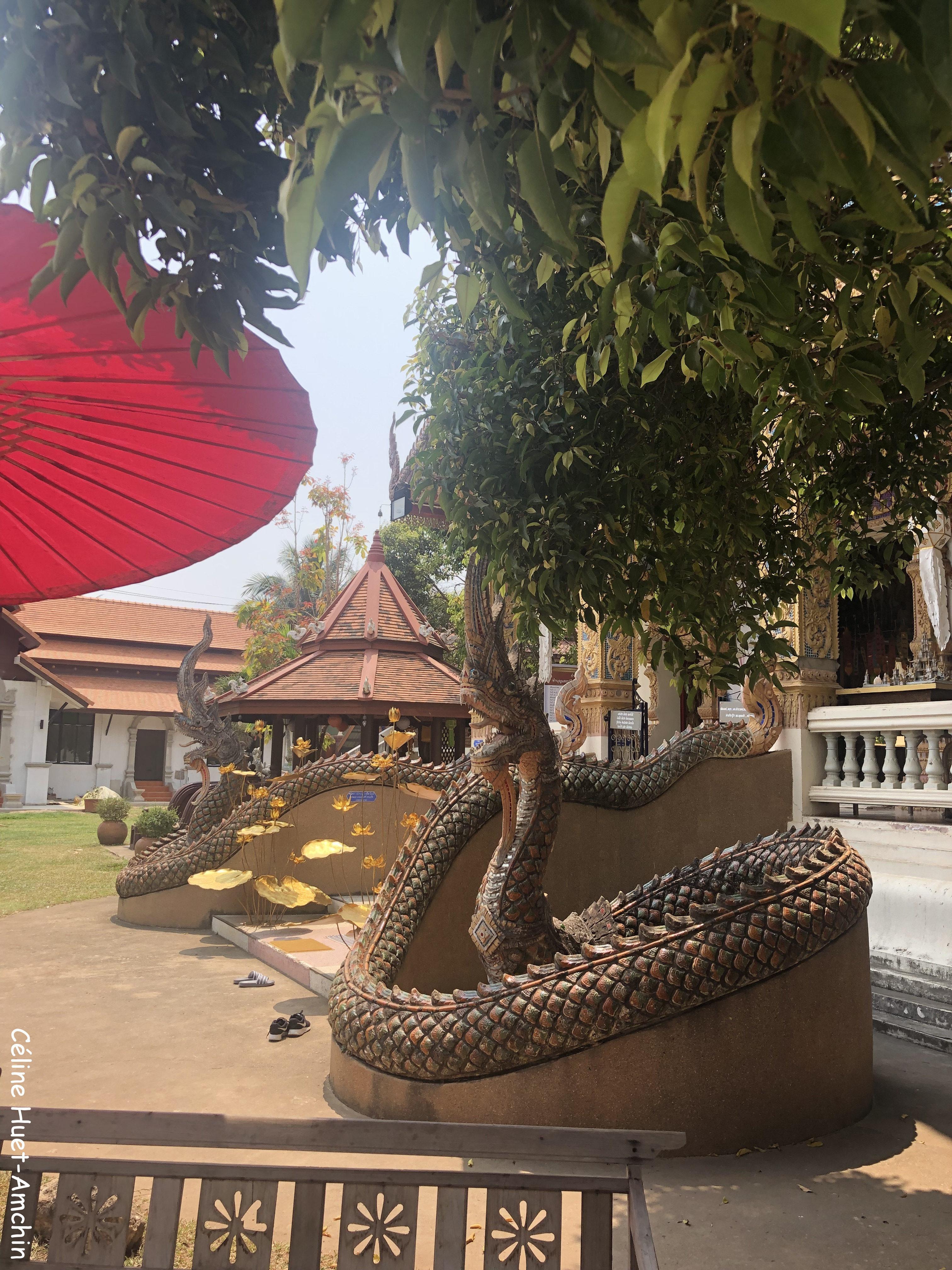 Wat Ban Pong Chiang Mai Hang Dong Thaïlande Asie