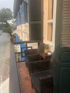 Balcony Room Tamarind 4 The Belle Rive Boutique Hotel Luang Prabang Laos Asie