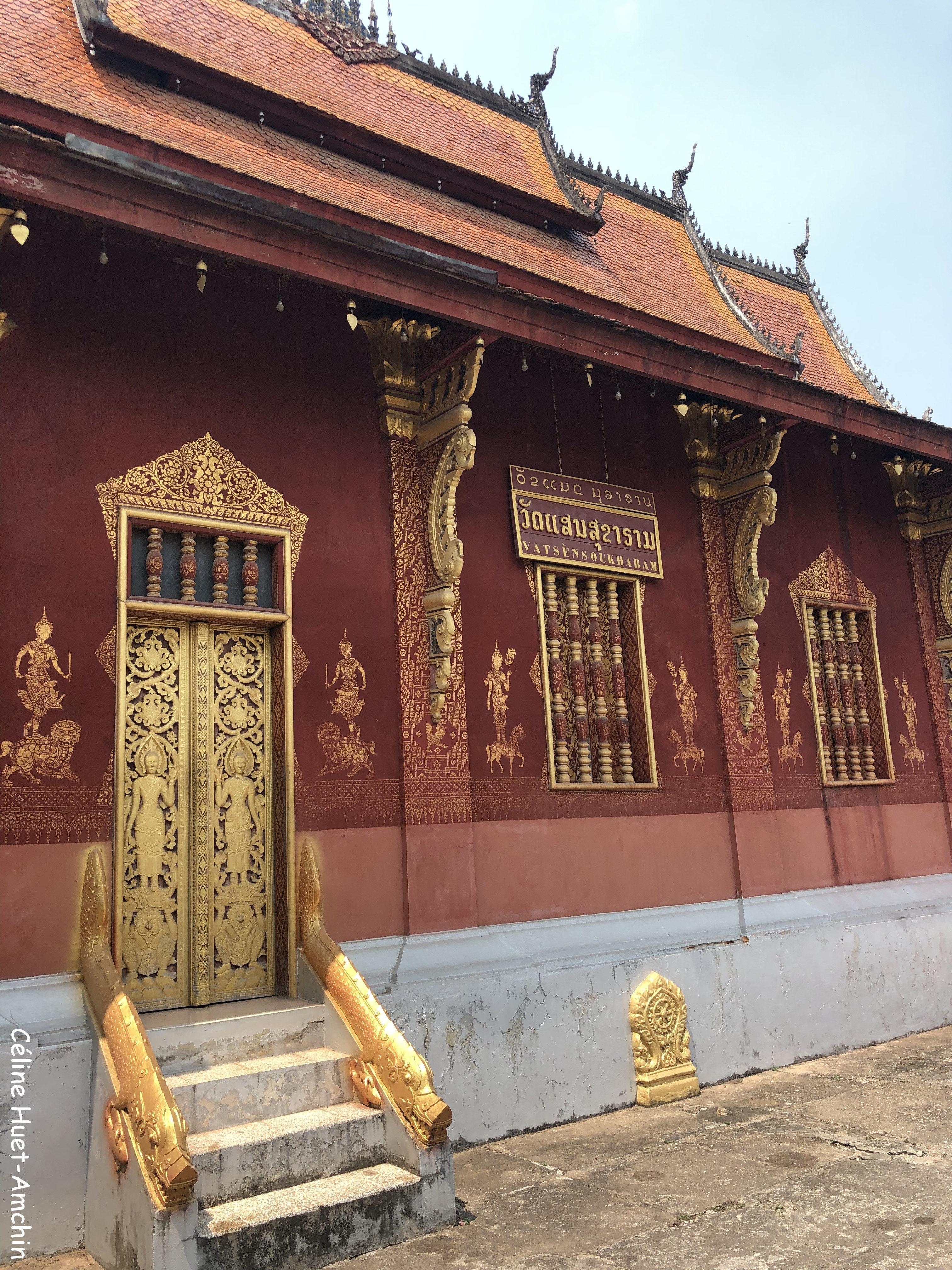 Vat Sensoukharam Luang Prabang Laos Asie