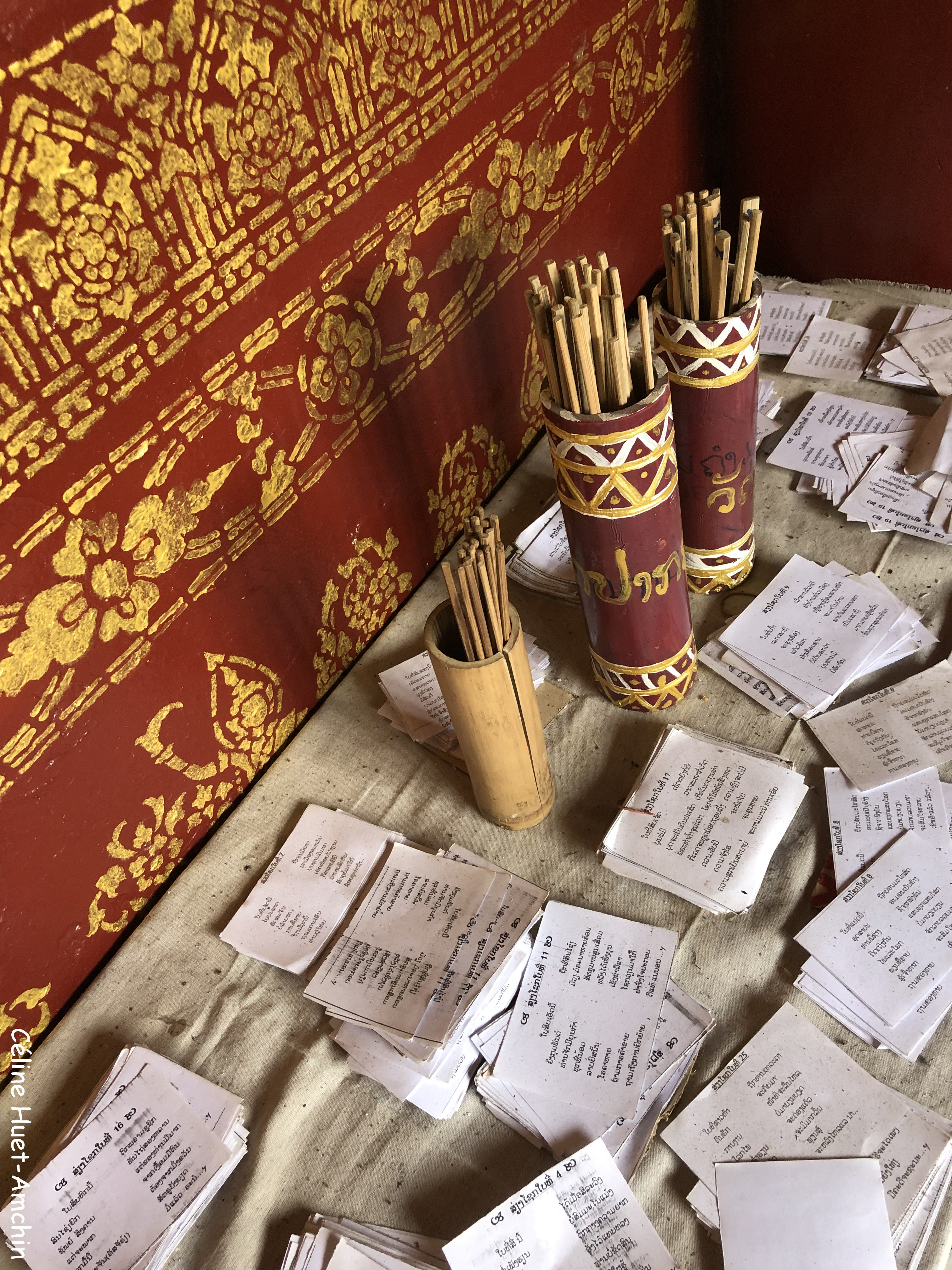 Wat Xiang Thong Luang Prabang Laos Asie
