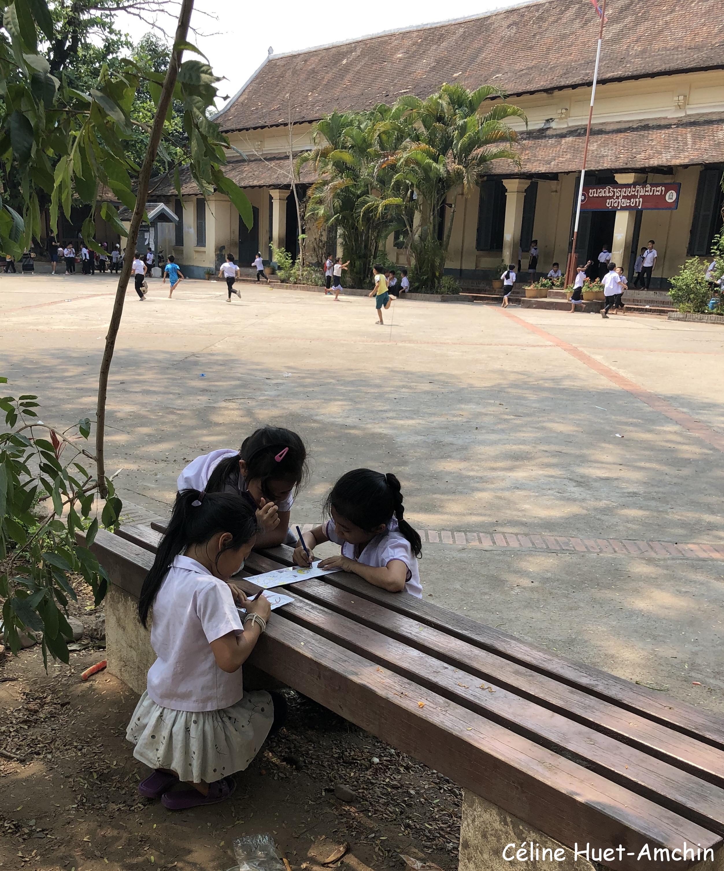 Ecole Luang Prabang Laos Asie