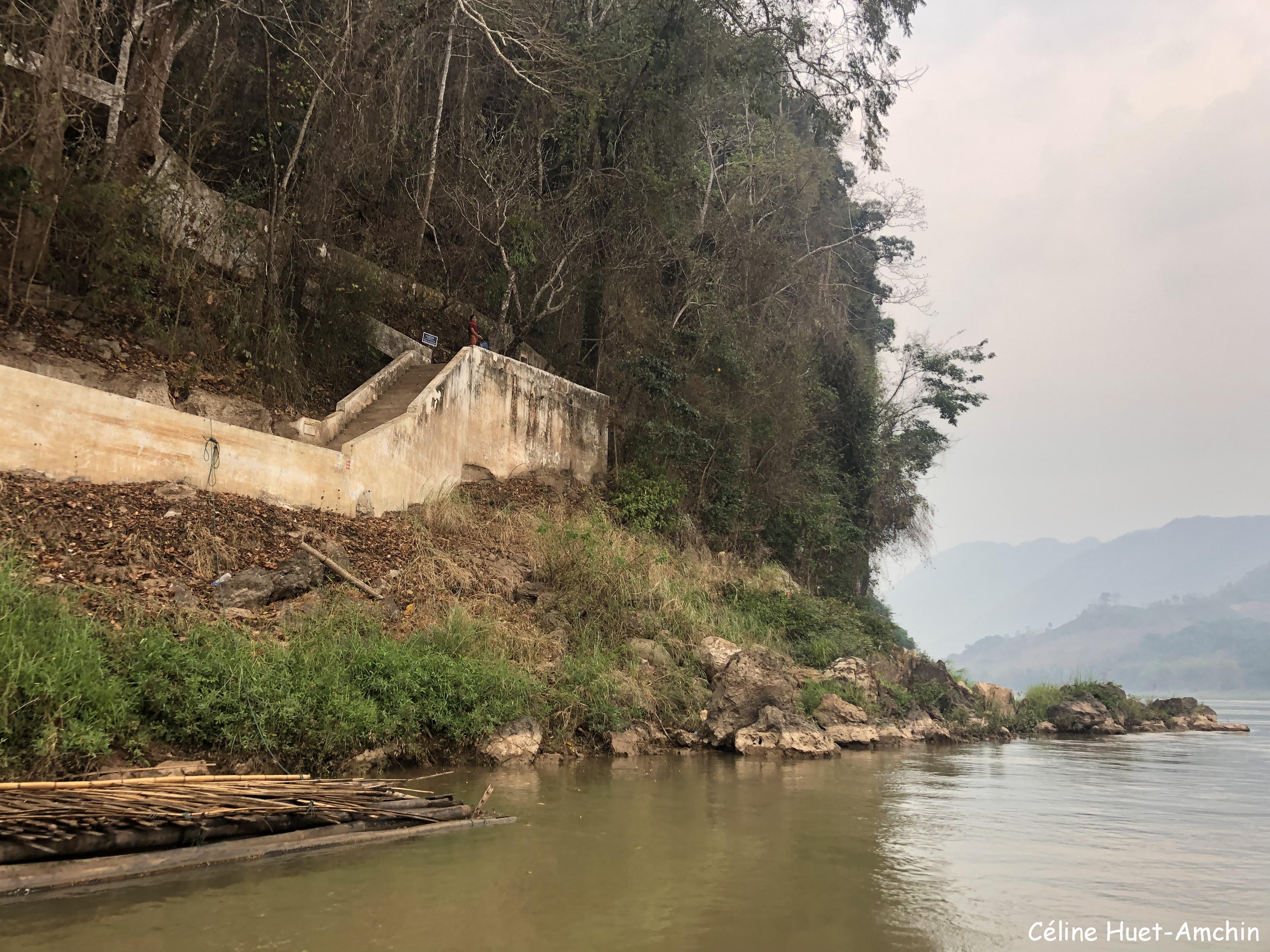Sur le Mékong retour vers Luang Prabang Laos Asie