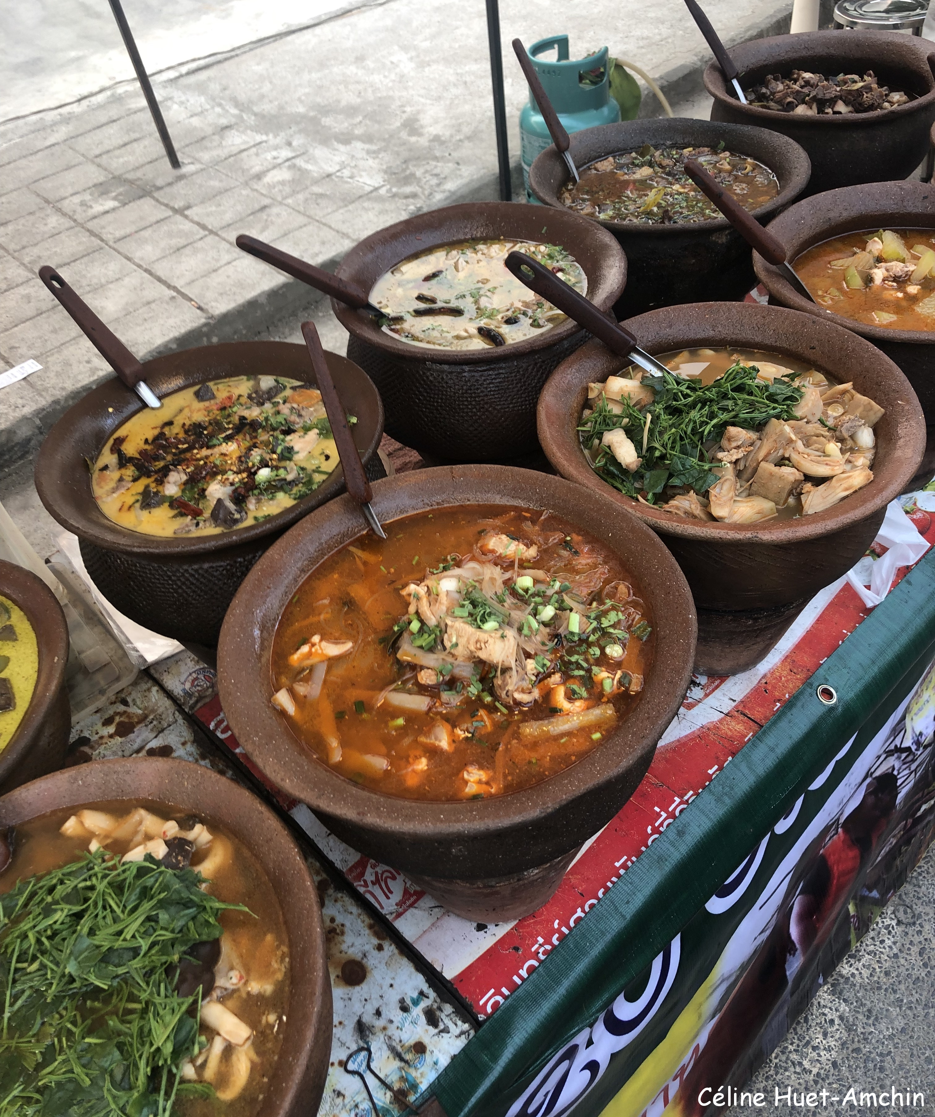Marché Mae Chan Chiang Rai Thaïlande Asie