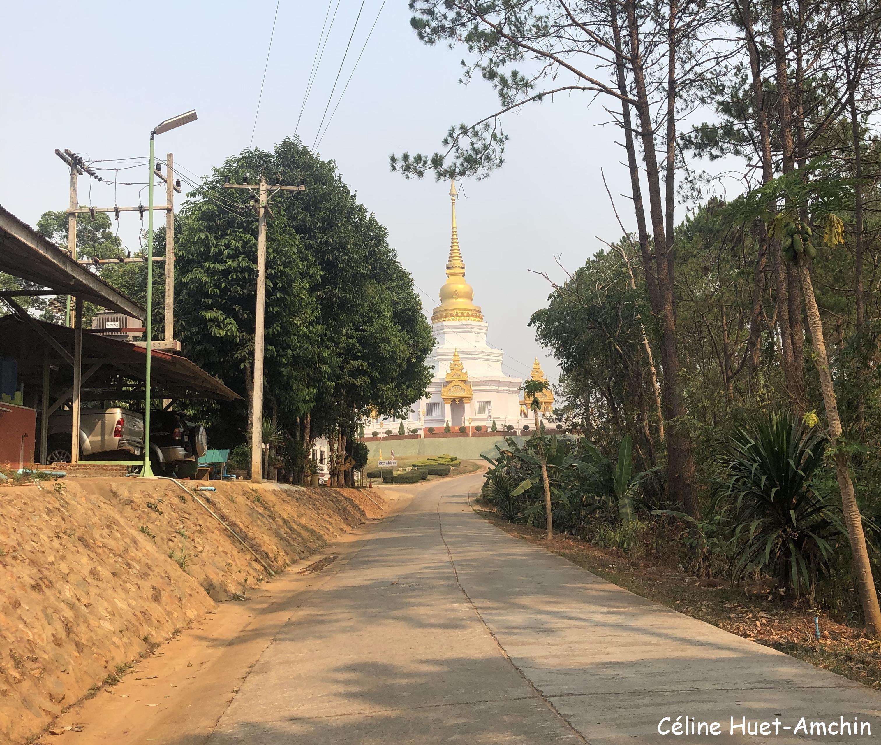 Sur la route dans les montagnes Thaïlande Asie