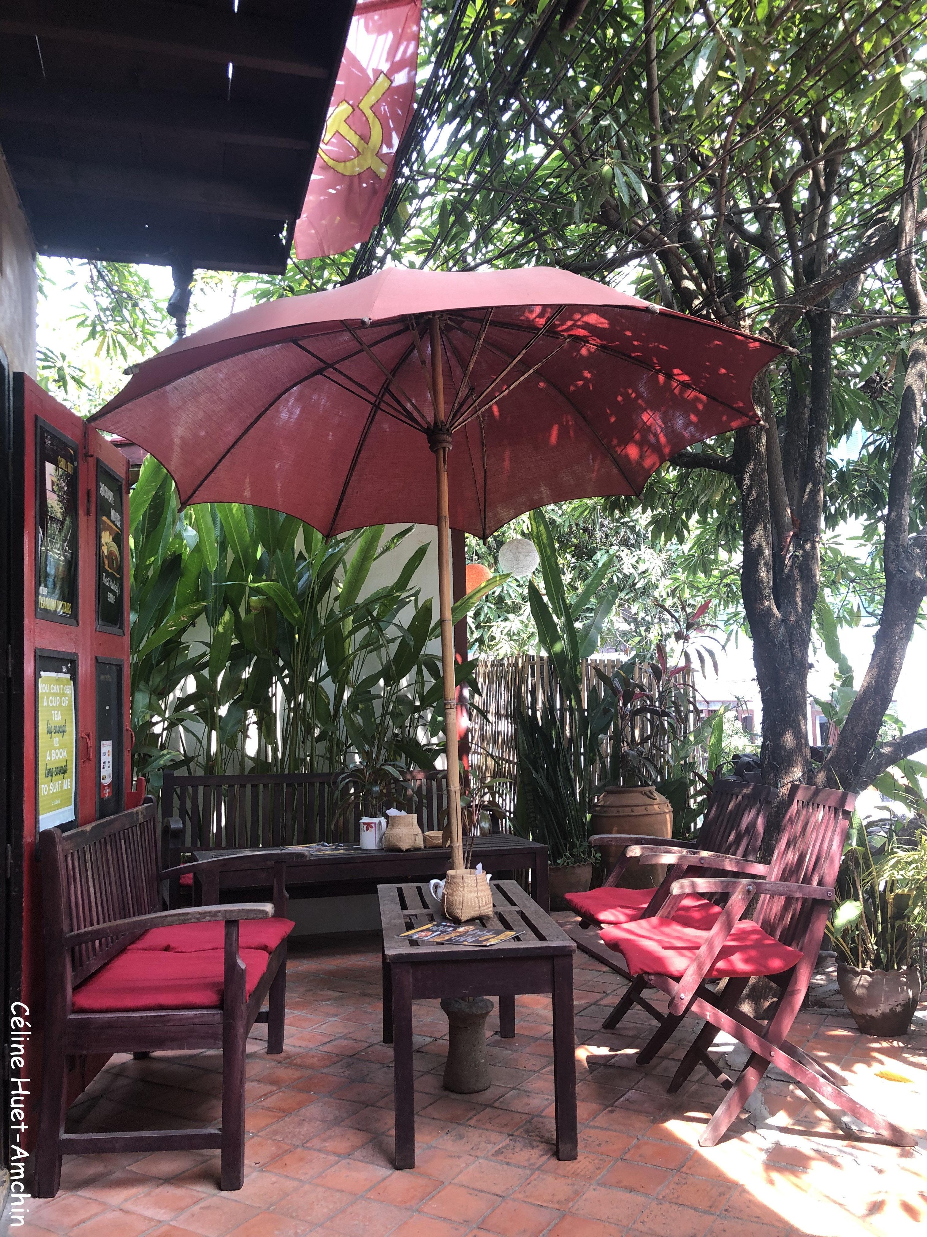 L'Etranger Books & Tea Luang Prabang Laos Asie