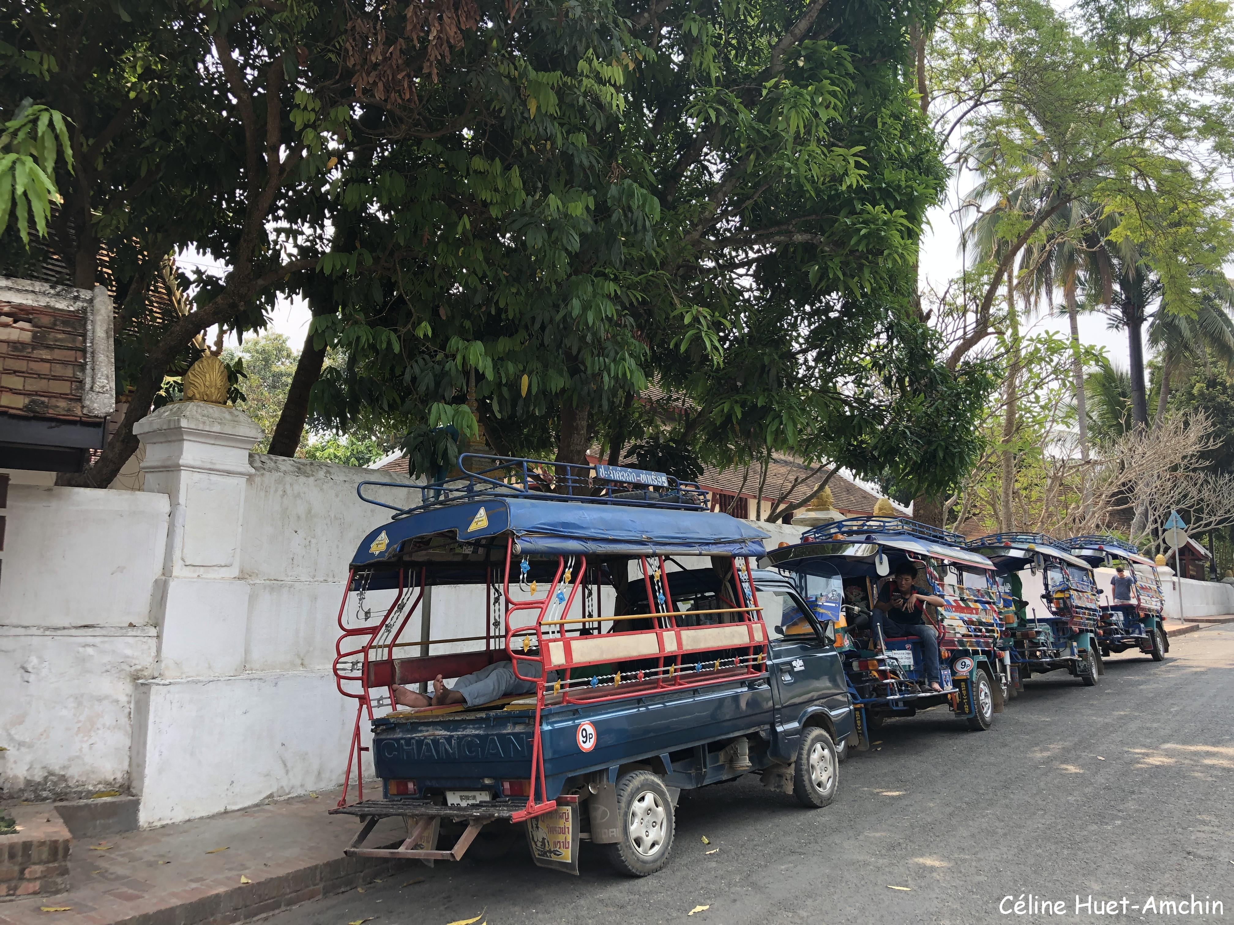 Tuk-Tuk Luang Prabang Laos Asie