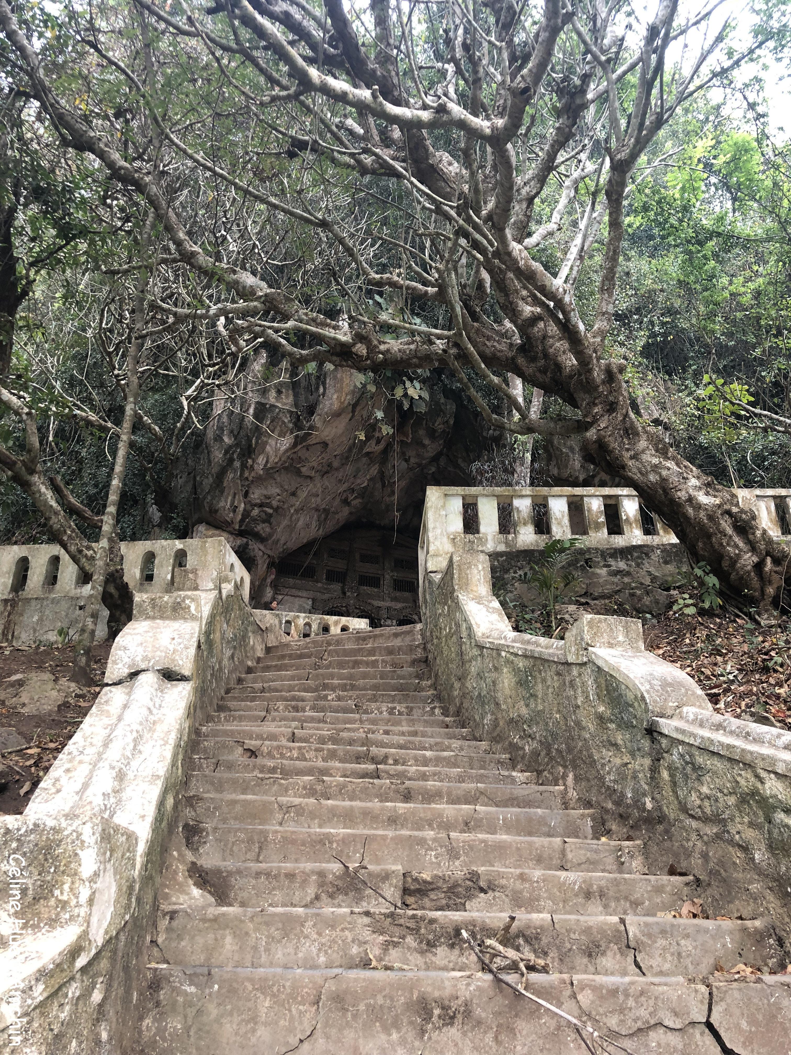 Vers la grotte de Tam Ting Laos Asie