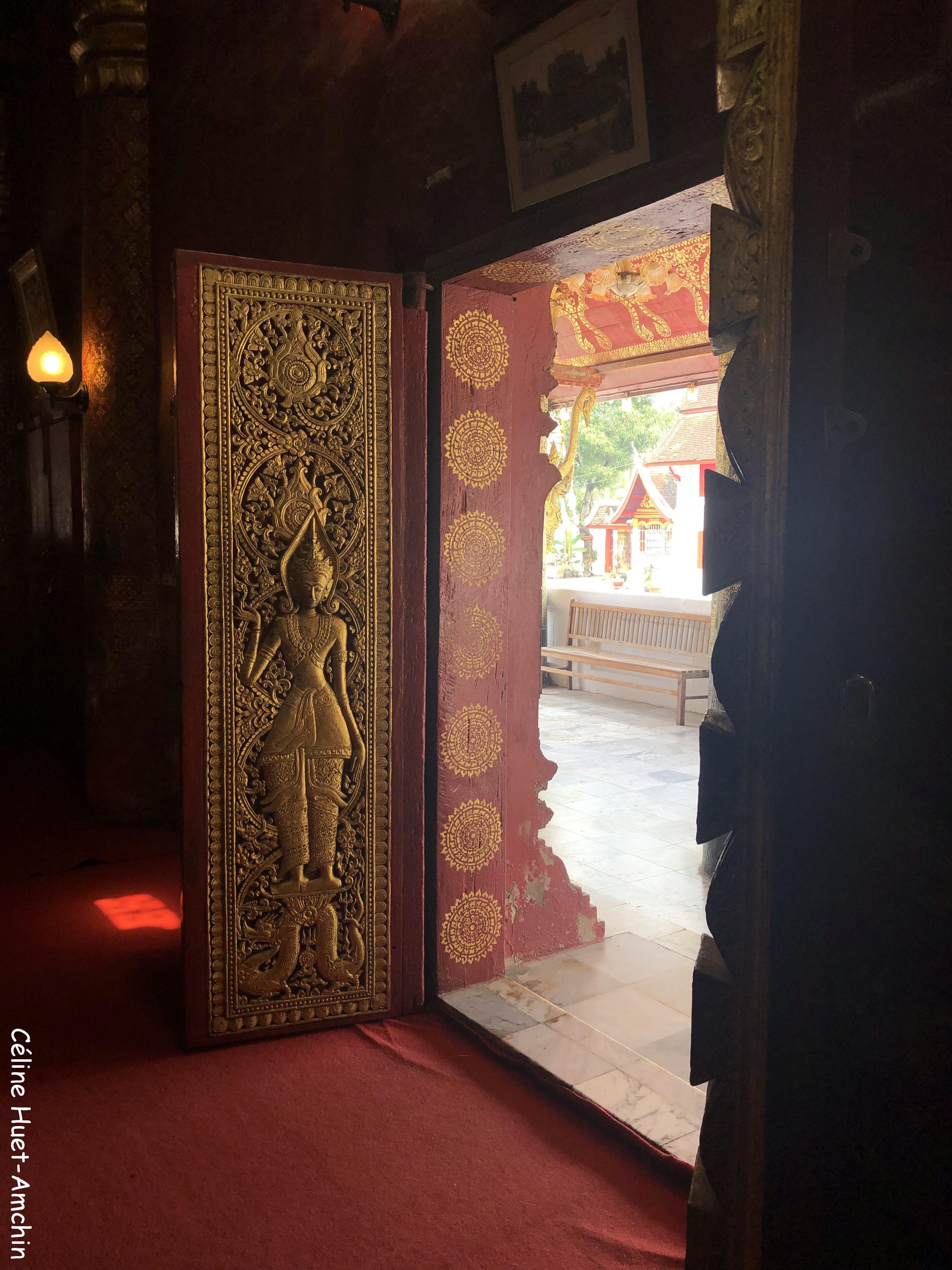 Wat Mai Luang Prabang Laos Asie