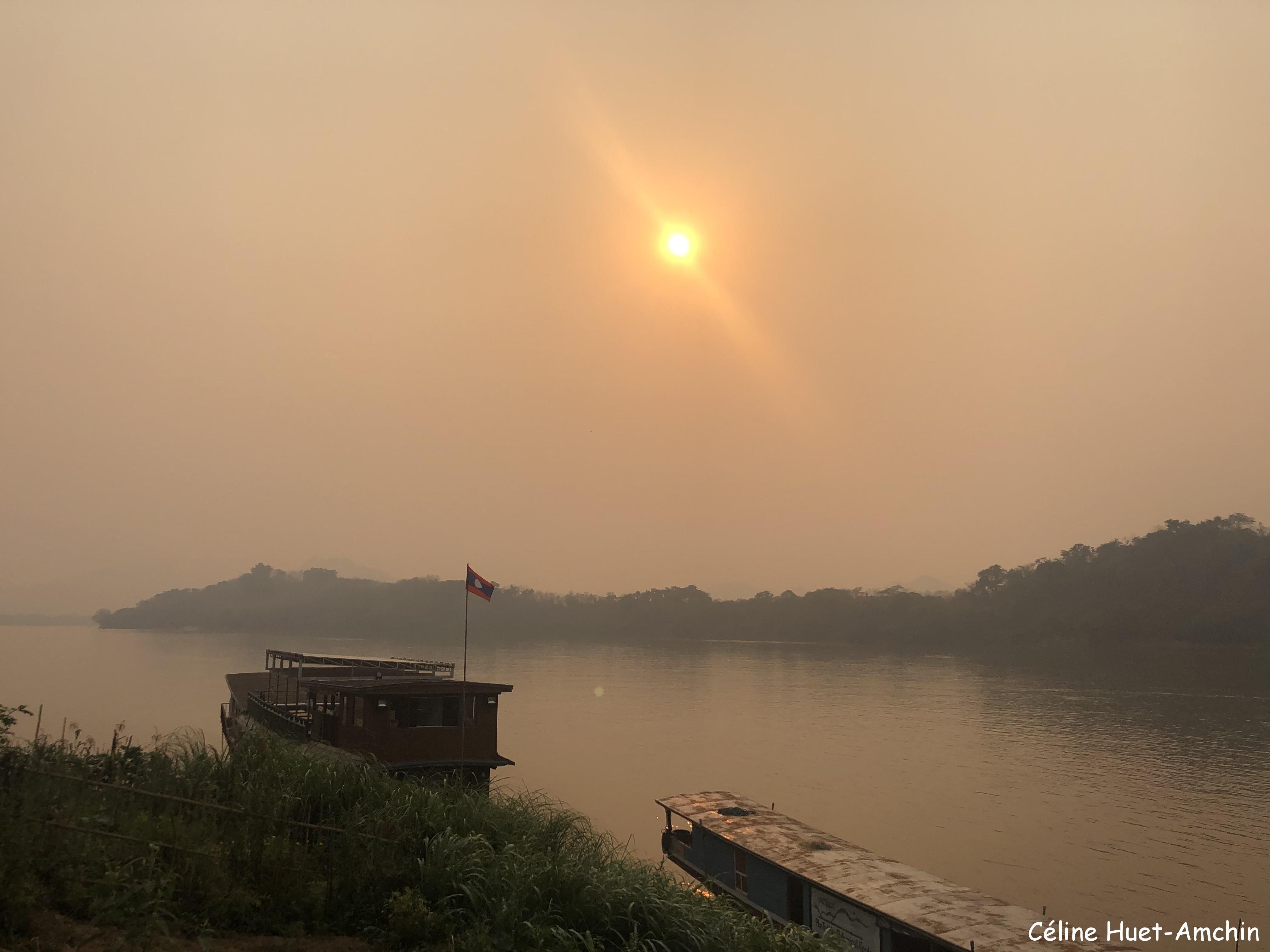 Retour à Luang Prabang Mékong Laos Asie